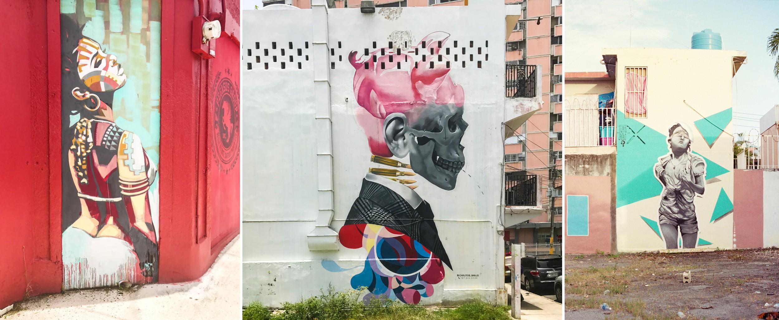 Amazing Puerto Rico Graffiti