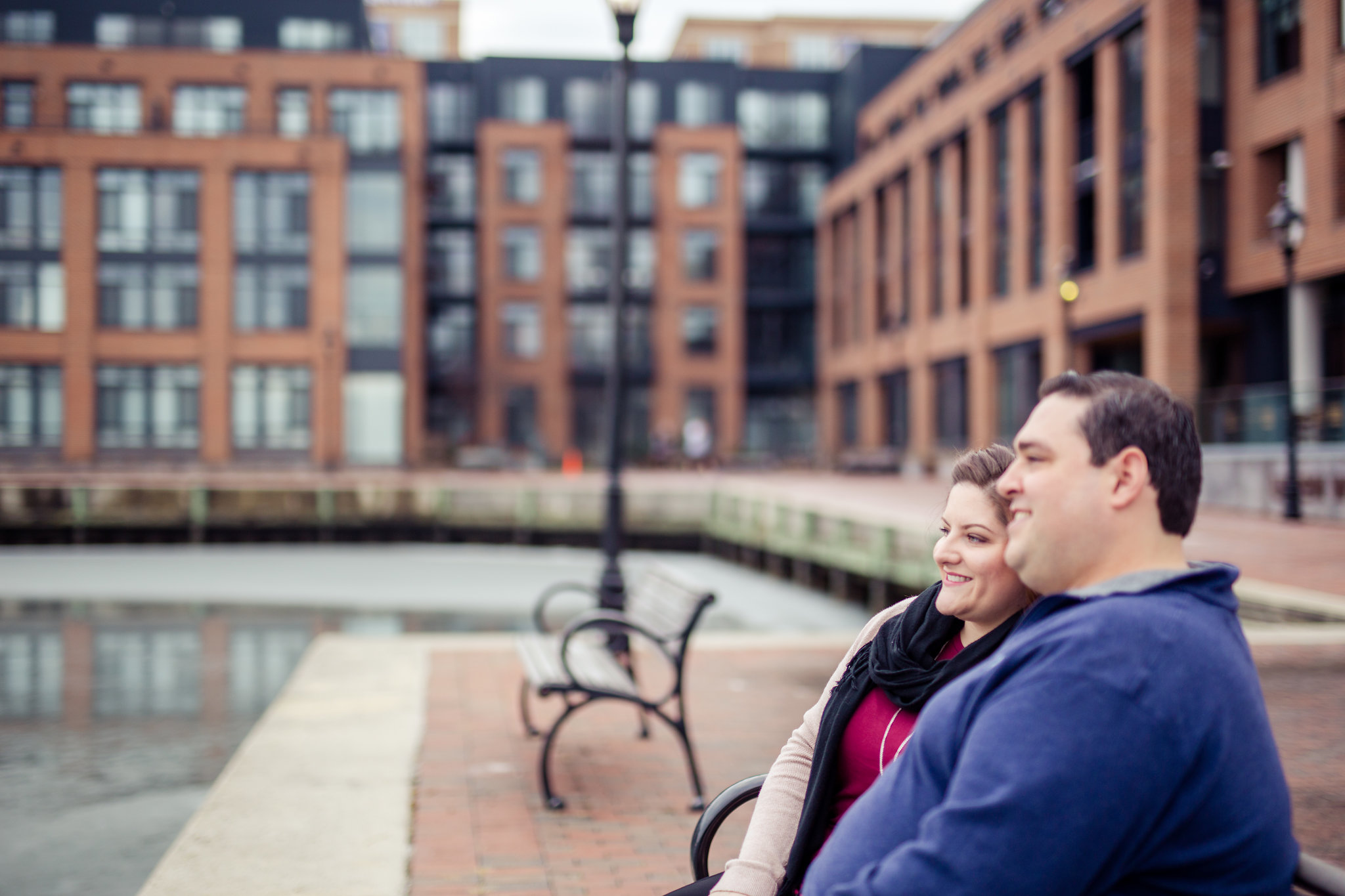 Fells Point Waterfront Engagement