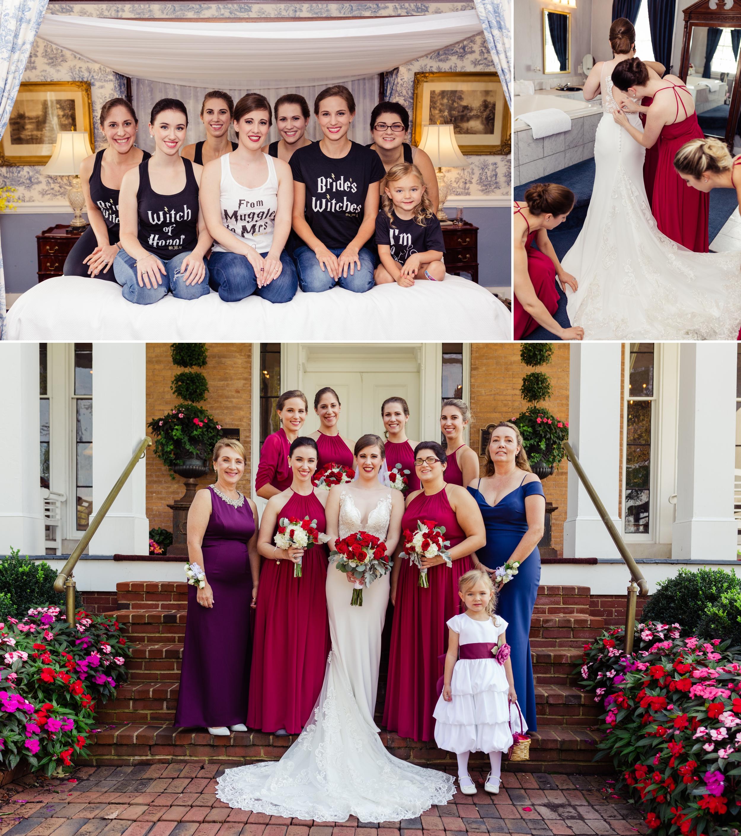 Bridal Party Antrim 1844