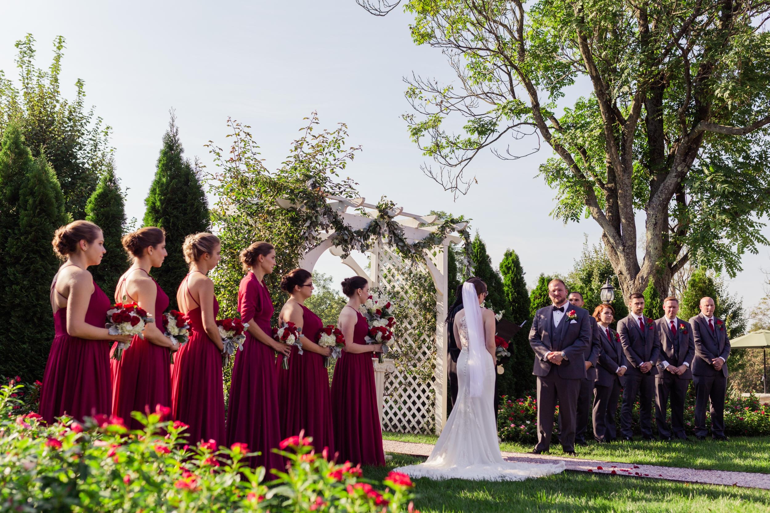 Garden Wedding Antrim 1844