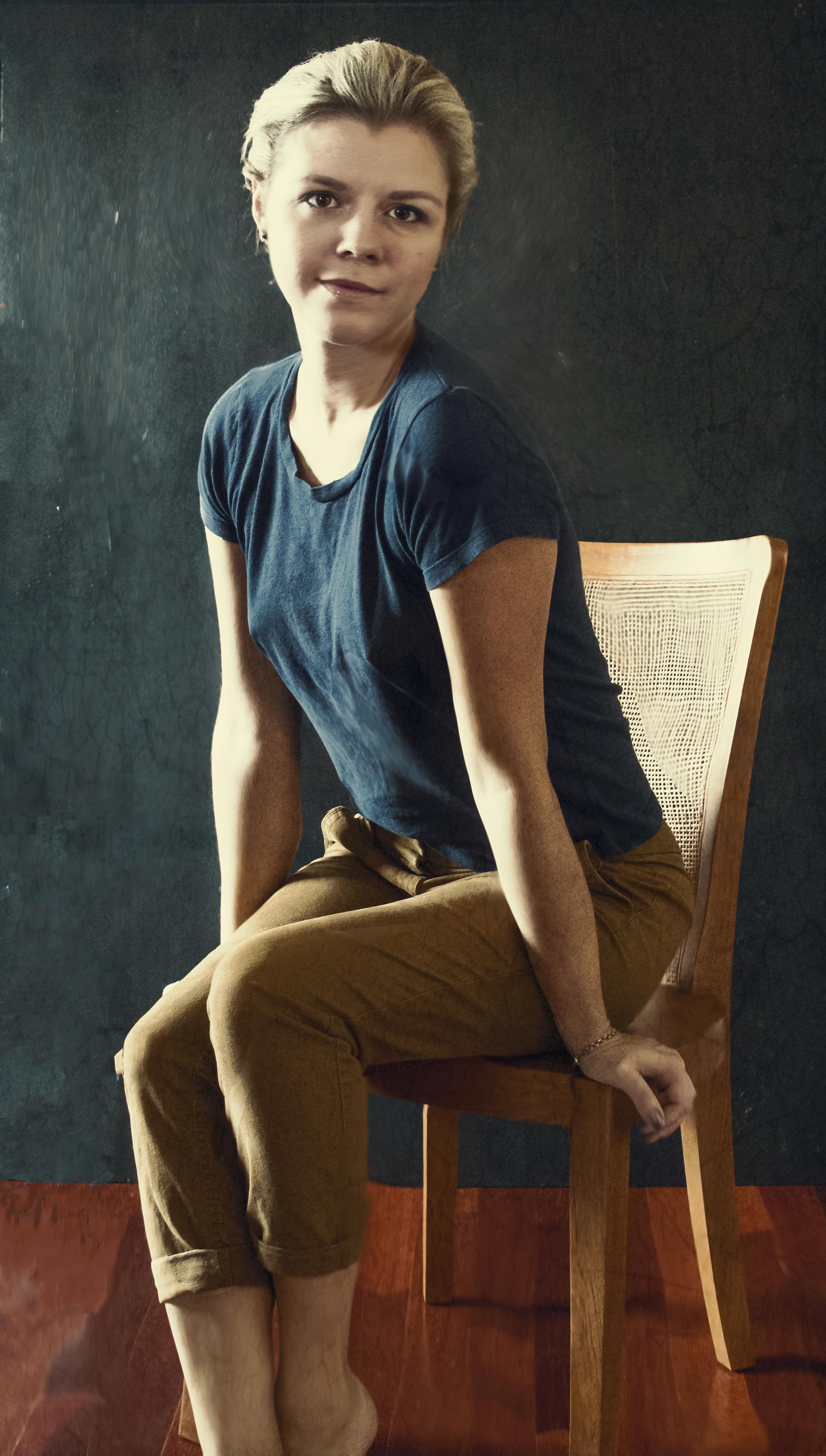 Self- Portrait - Jenessa Hansford - 2017
