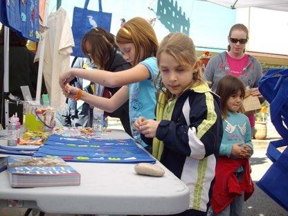 BCAS booth at Smithville's Christmas Fair