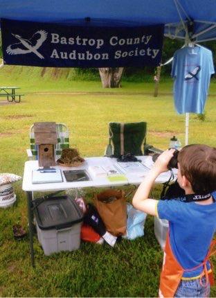 Binocular training, City of Bastrop NatureFest