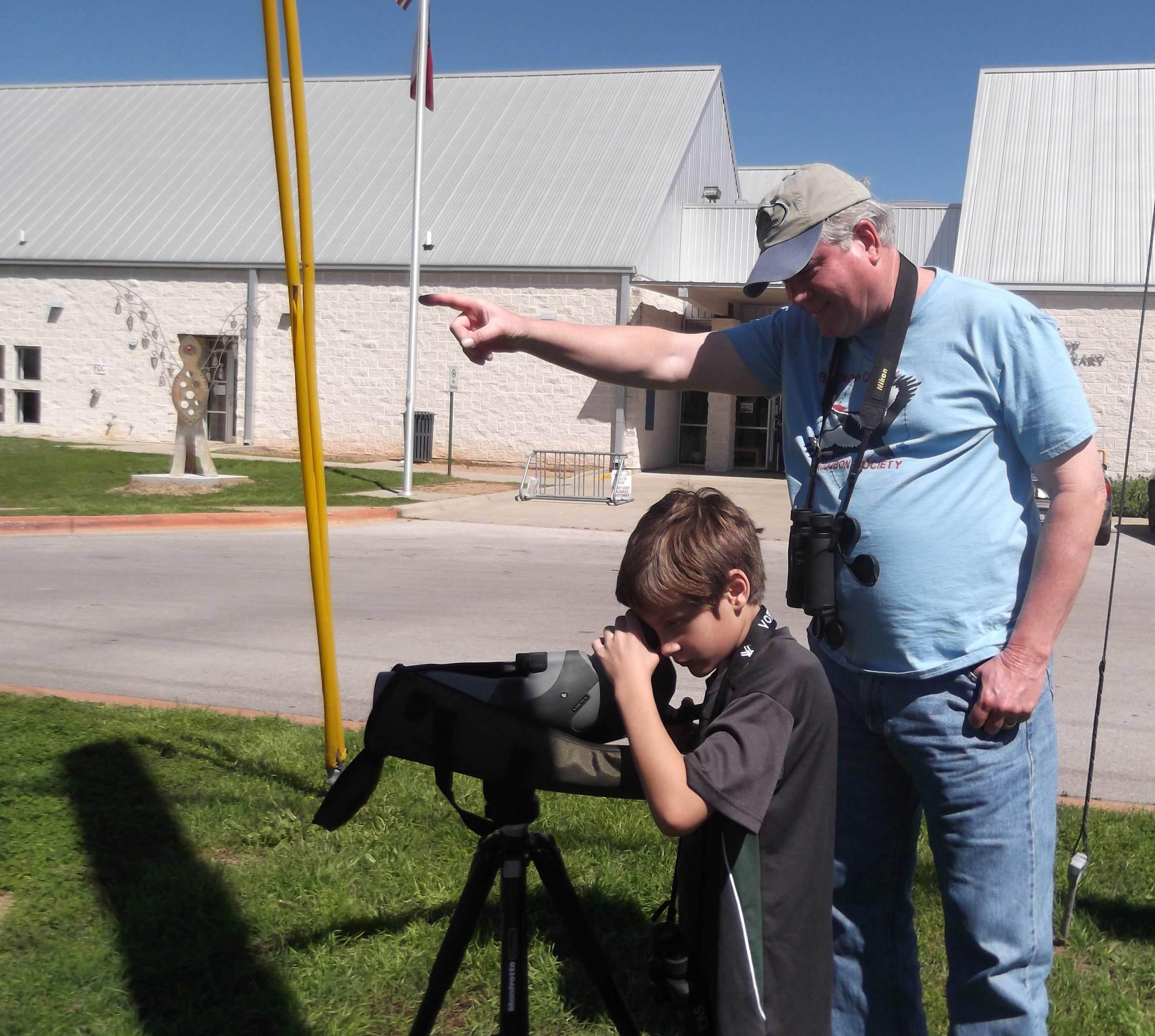 BCAS Binocular/Scope Training at Bastrop Libary