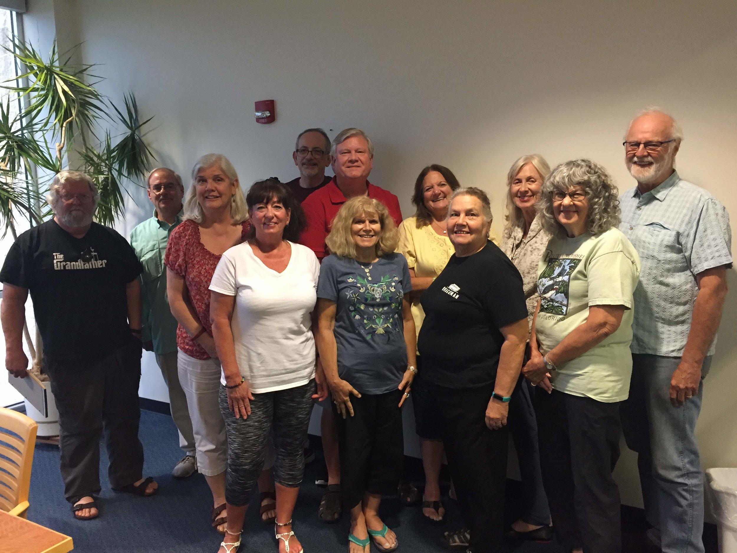 Bastrop County Audubon Society Board & Officers 2018-2020
