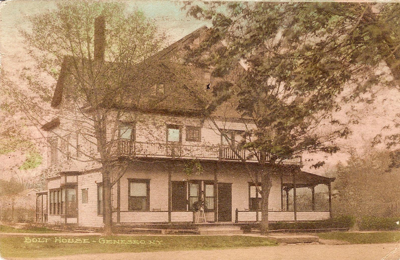 Bolt House c. 1920 Courtesy of Jon and Liz Porter