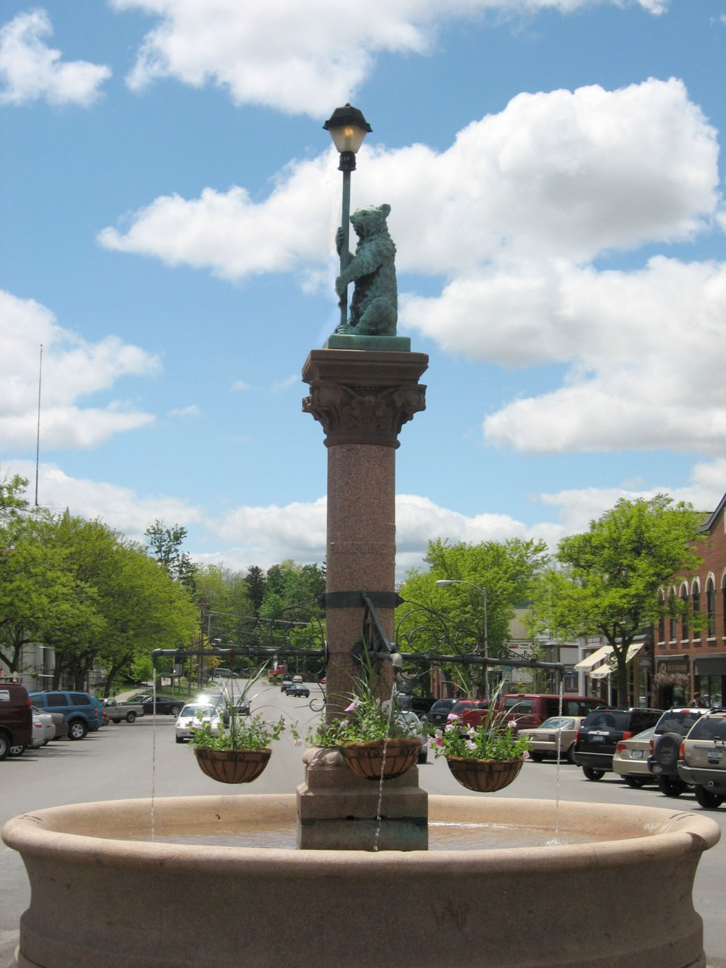 The Wadsworth Fountain in 2008