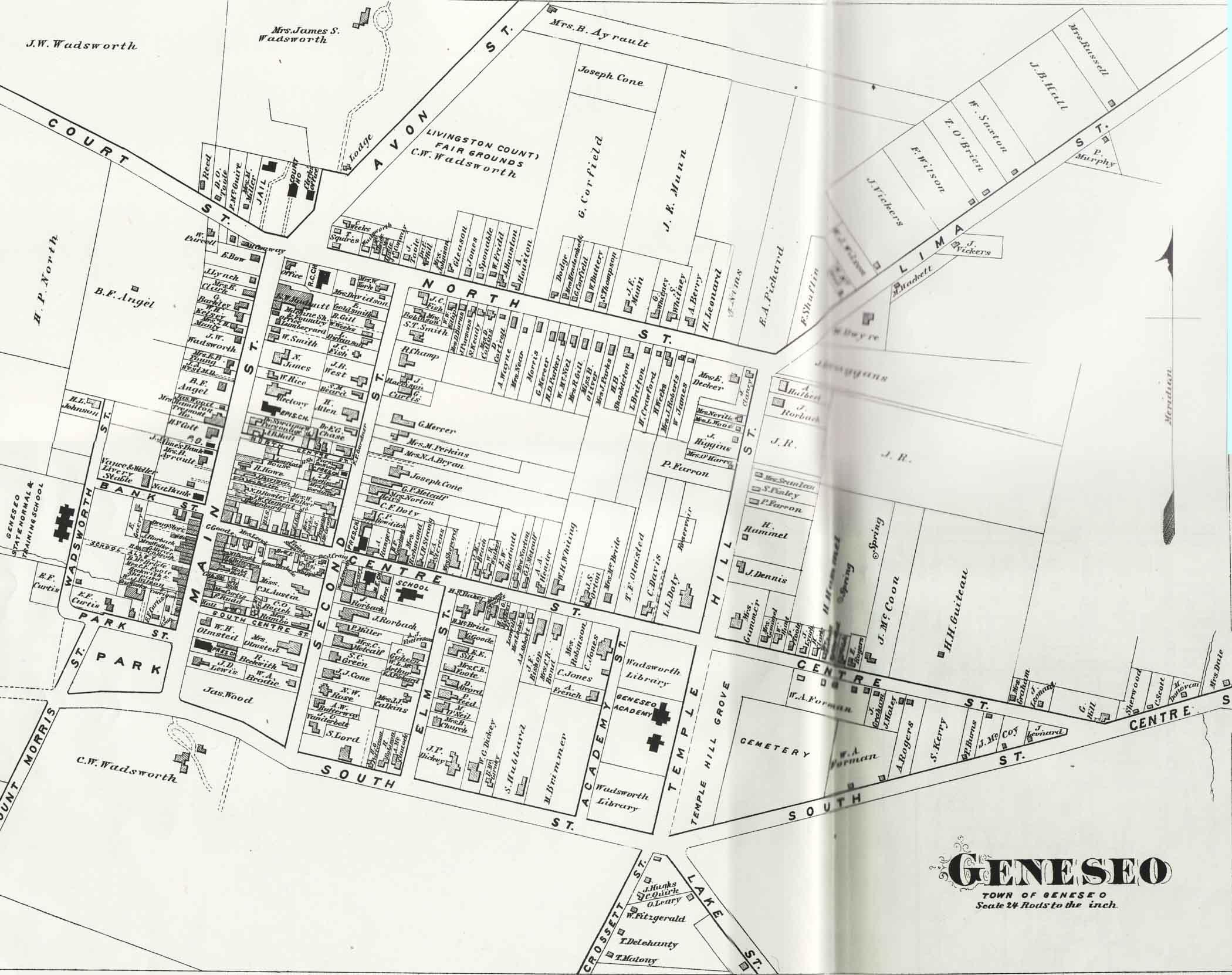 Geneseo in 1872