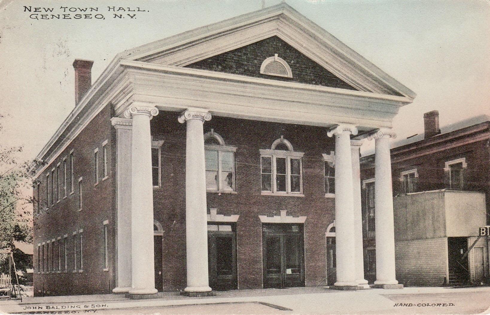 c. 1908   Courtesy Livingston County Historian