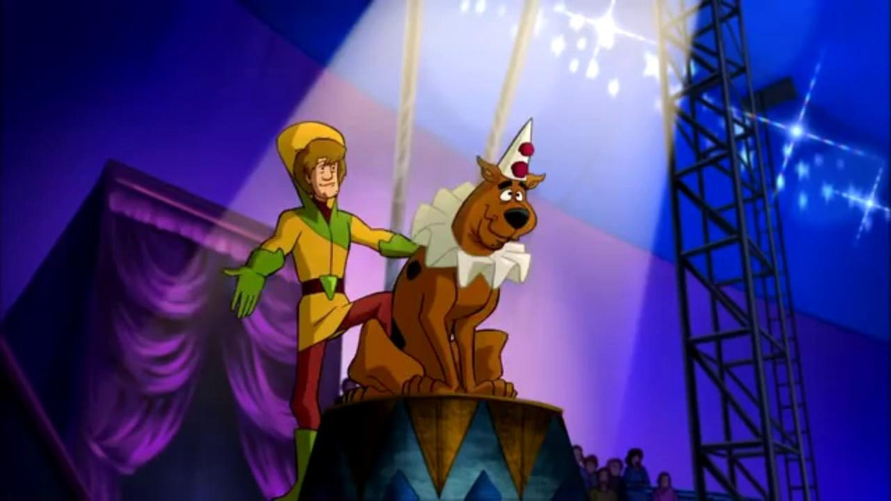Watch this scene beautifully animated from Big Top Scooby Doo - in Spanish!