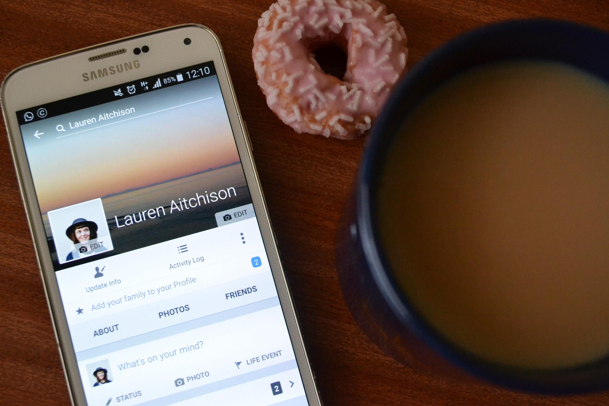 the devil wears tartan facebook doughnut tea