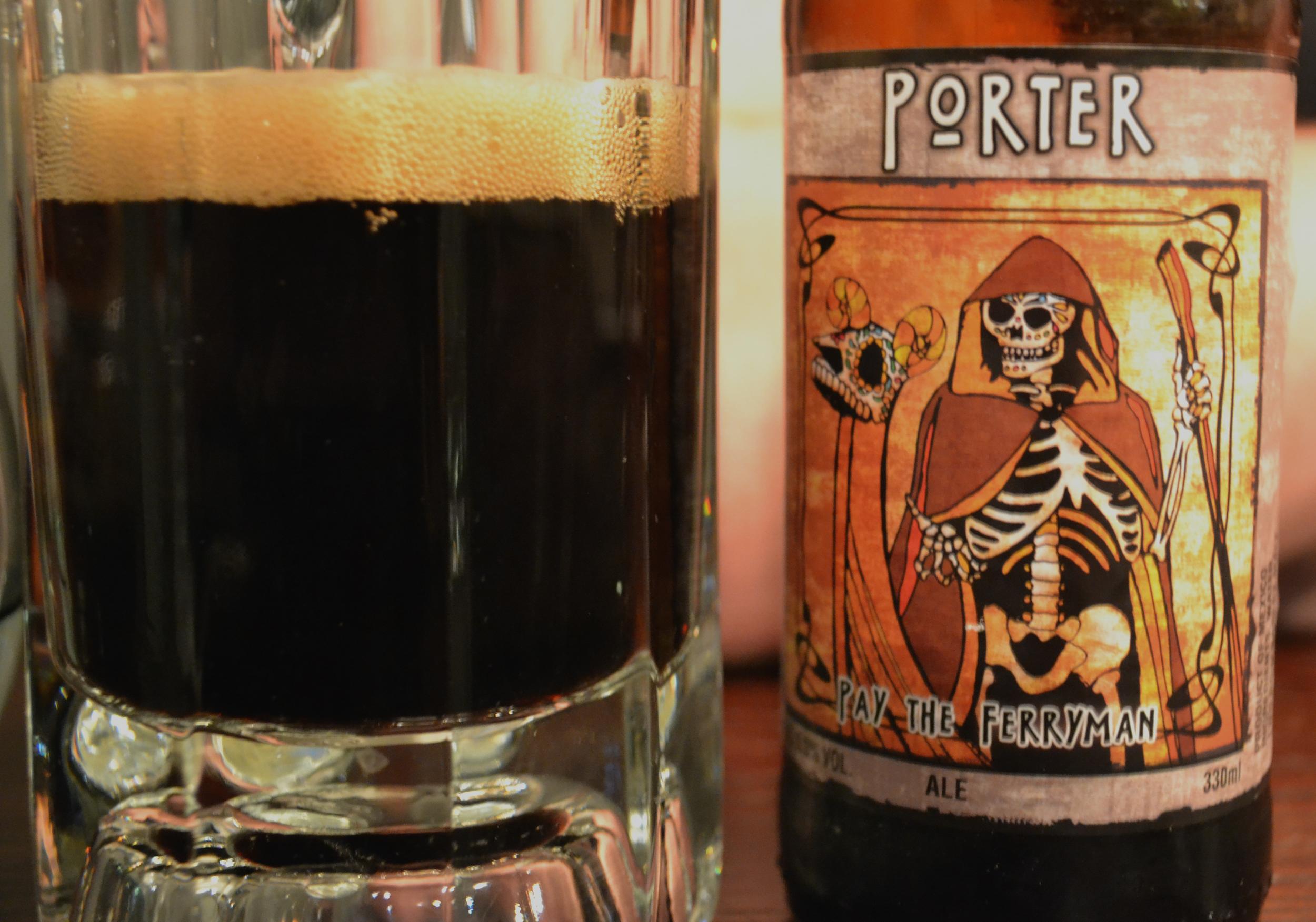 Adelphi Kitchen Porter Mexican beer