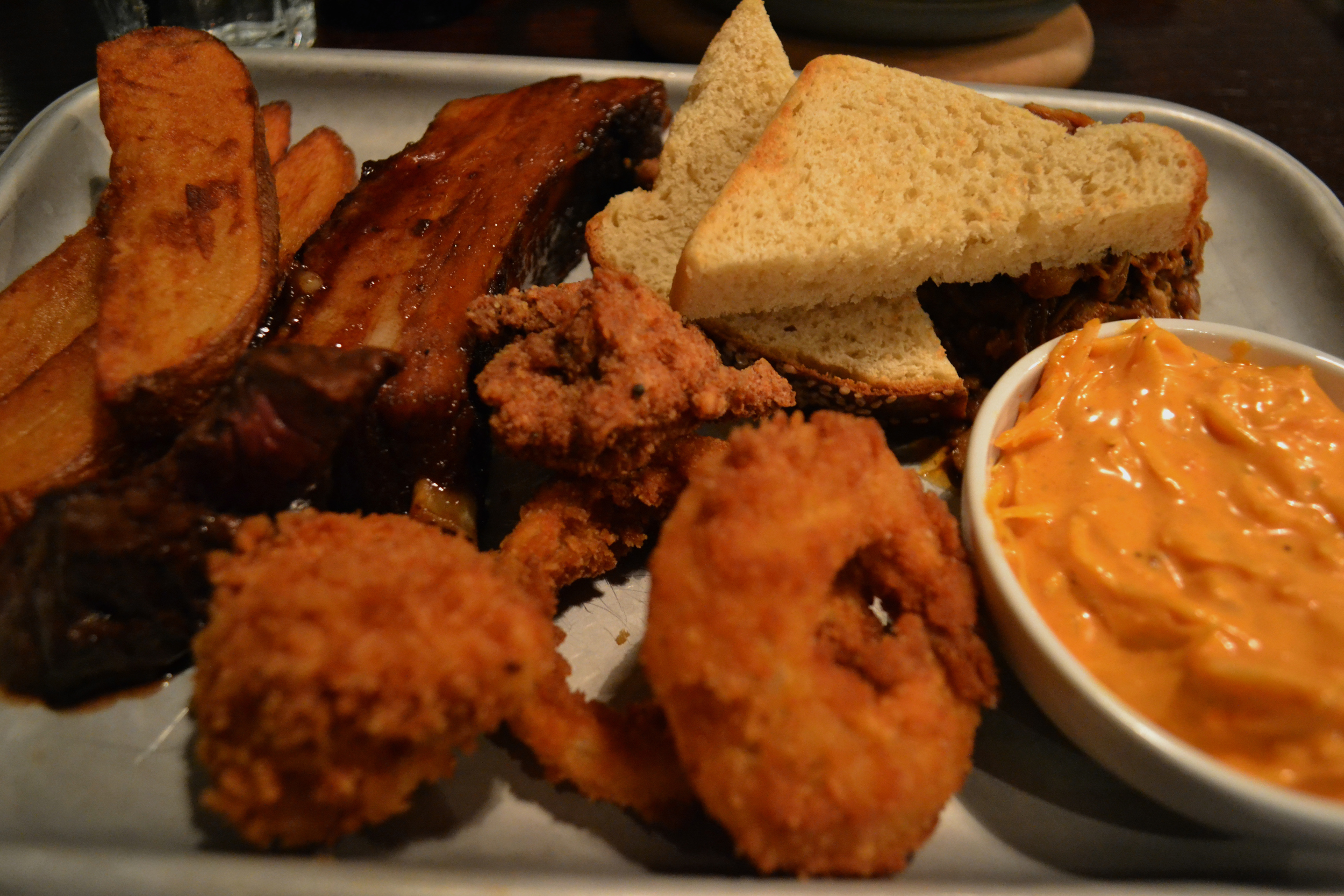 Adelphi Kitchen Tuesday taster tray