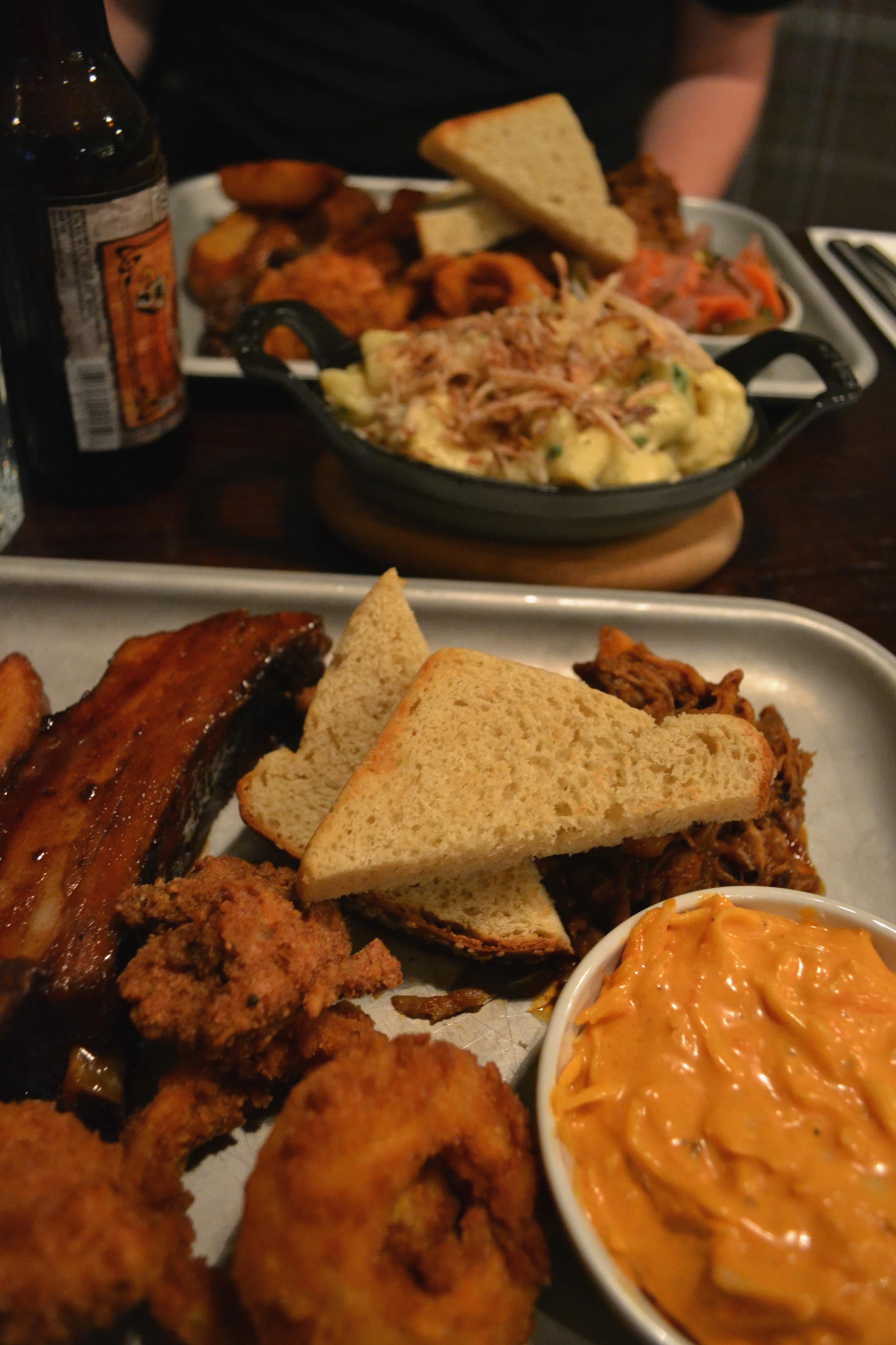 Adelphi Kitchen Aberdeen Tuesday taster tray