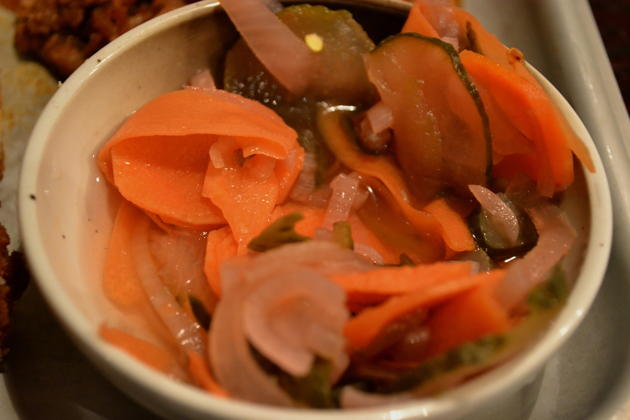 Adelphi Kitchen Aberdeen Tuesday taster pickled veg