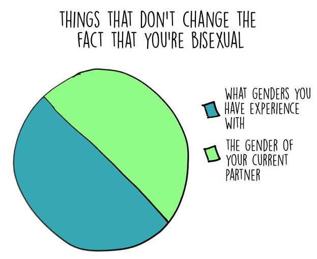 More 'bisexual pie charts' can be found  HERE .