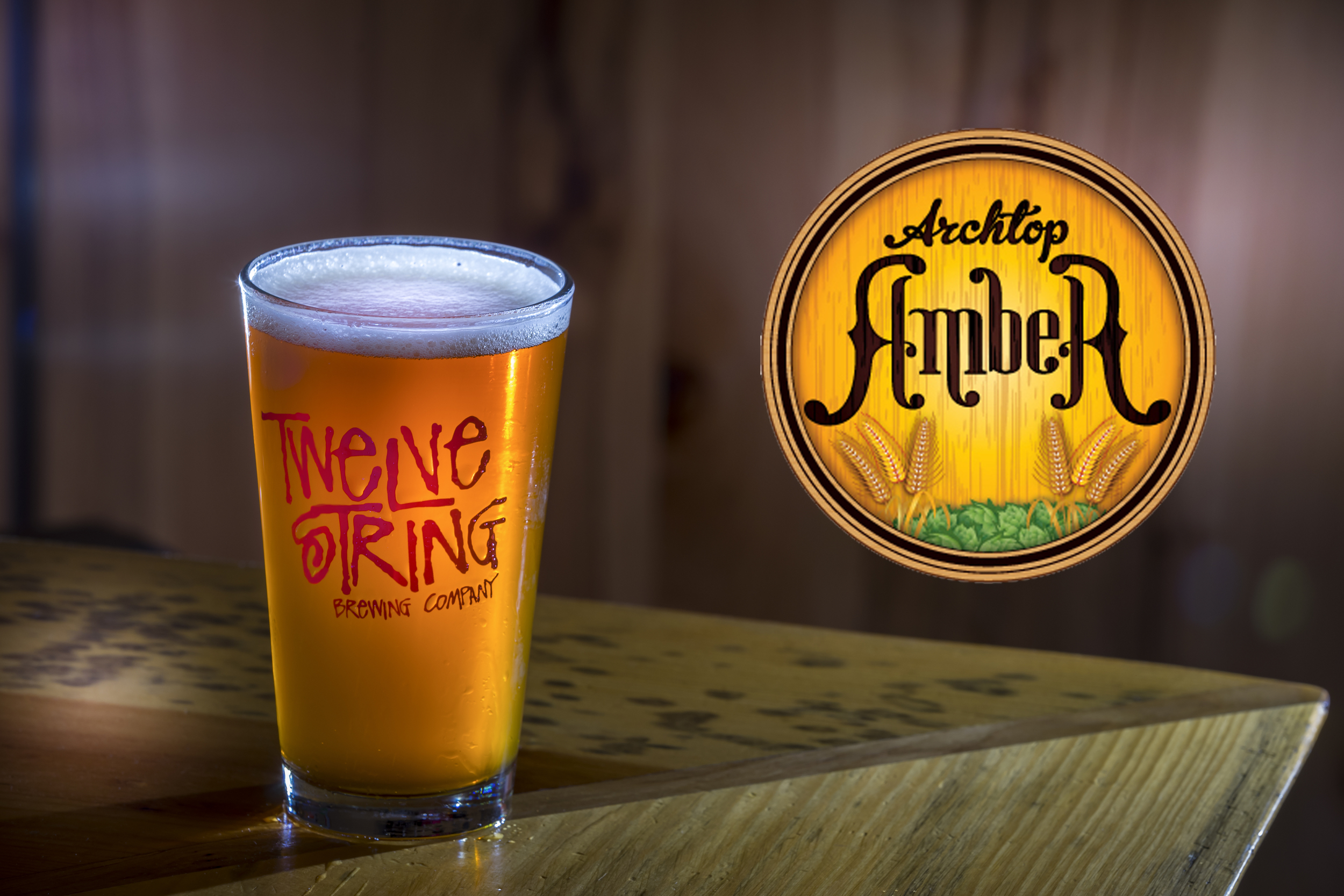 Archtop Amber from Twelve String Brewing Company