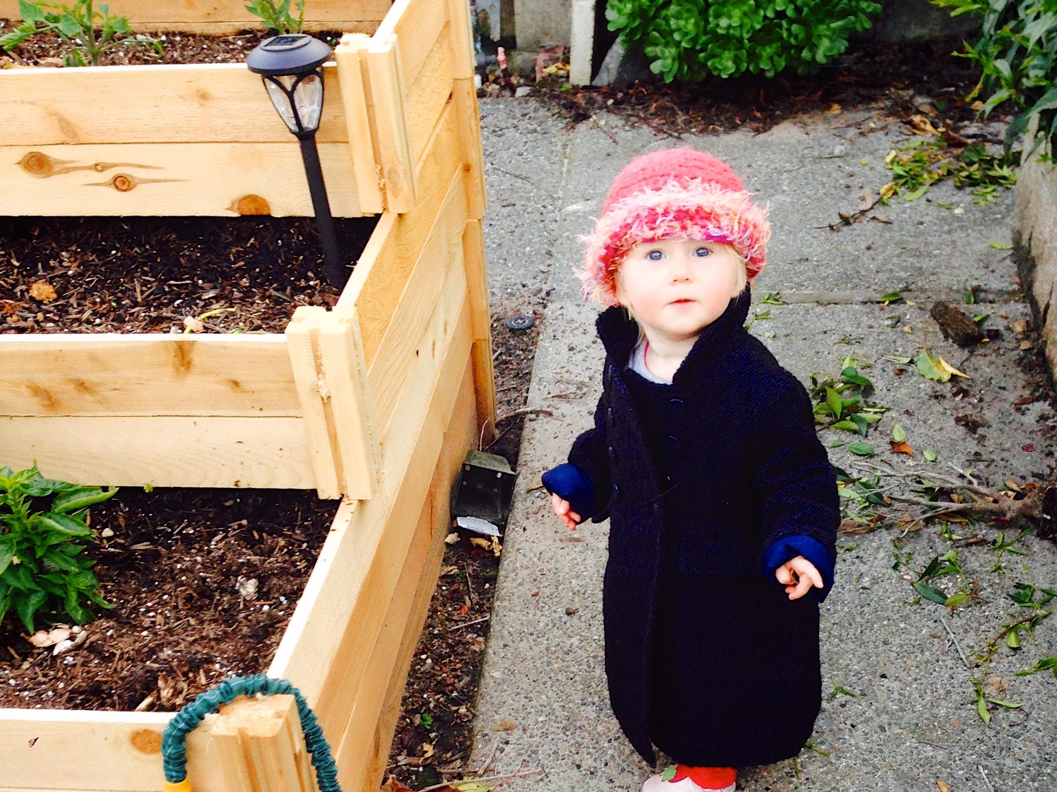 Ariella gardening