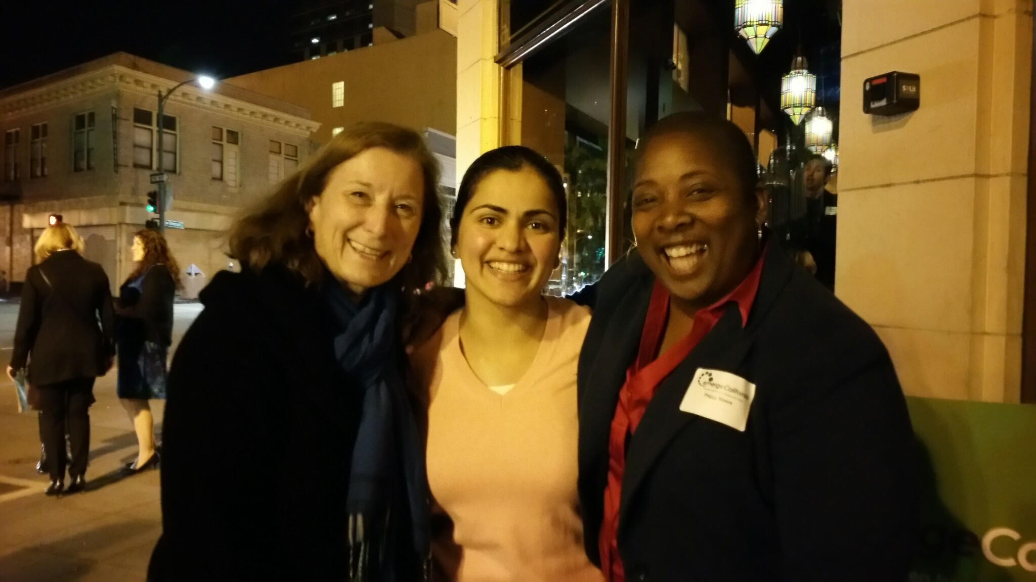 Ellen, Aisha, and Peggy