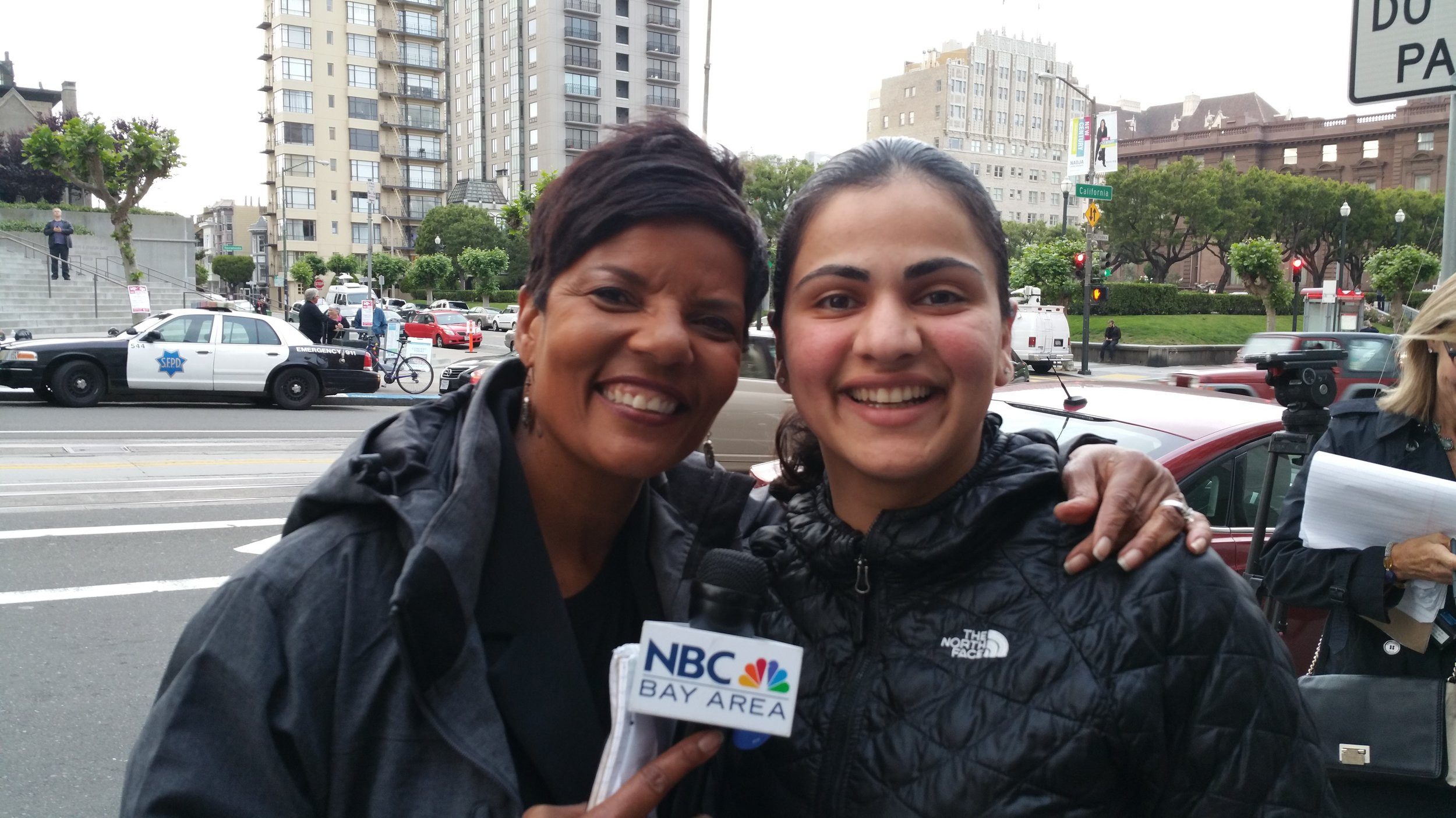 NBC Reporter Cheryl Hurd & Aisha