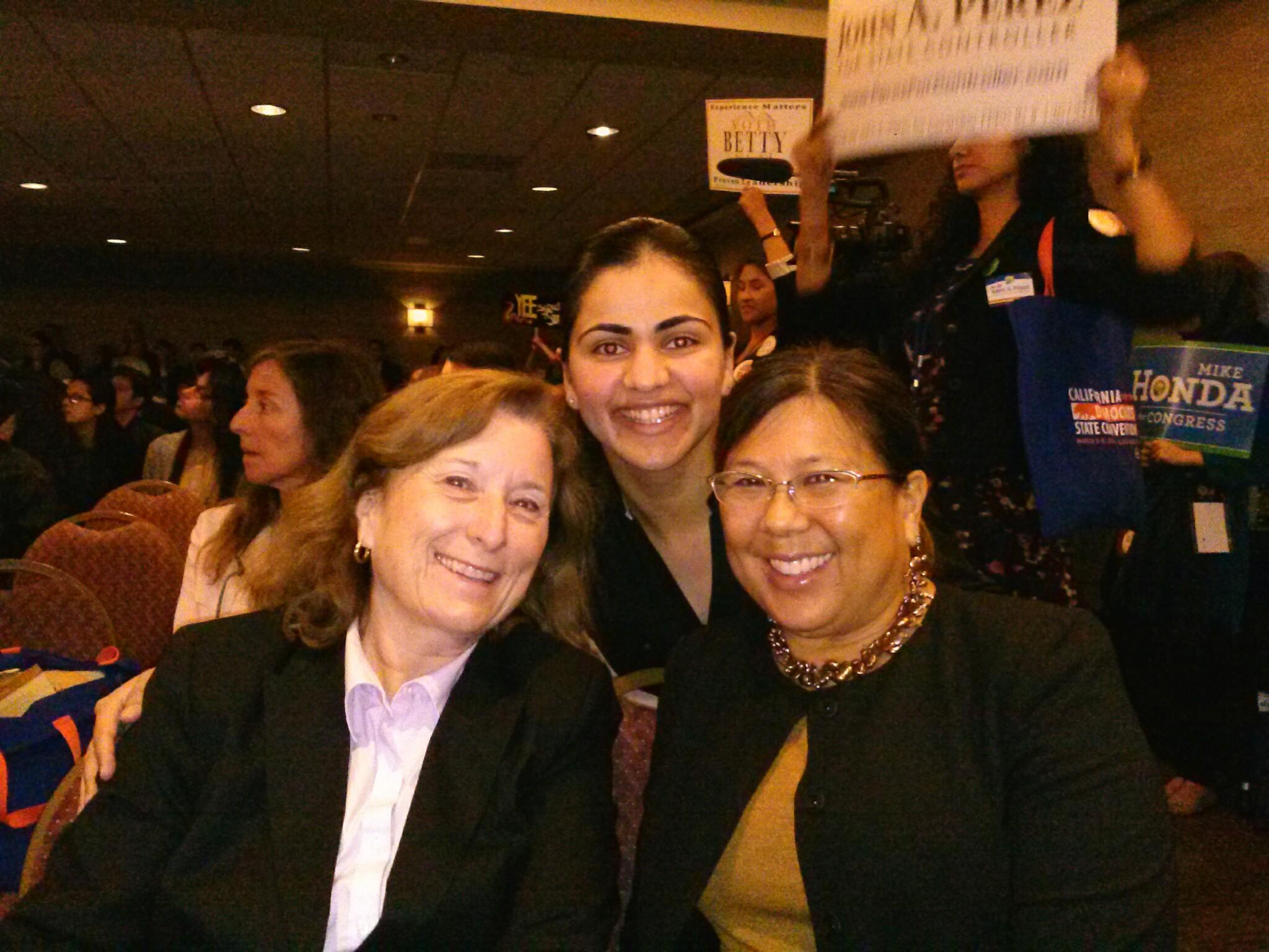 Senator Ellen Corbett and CA State Controller Betty Yee
