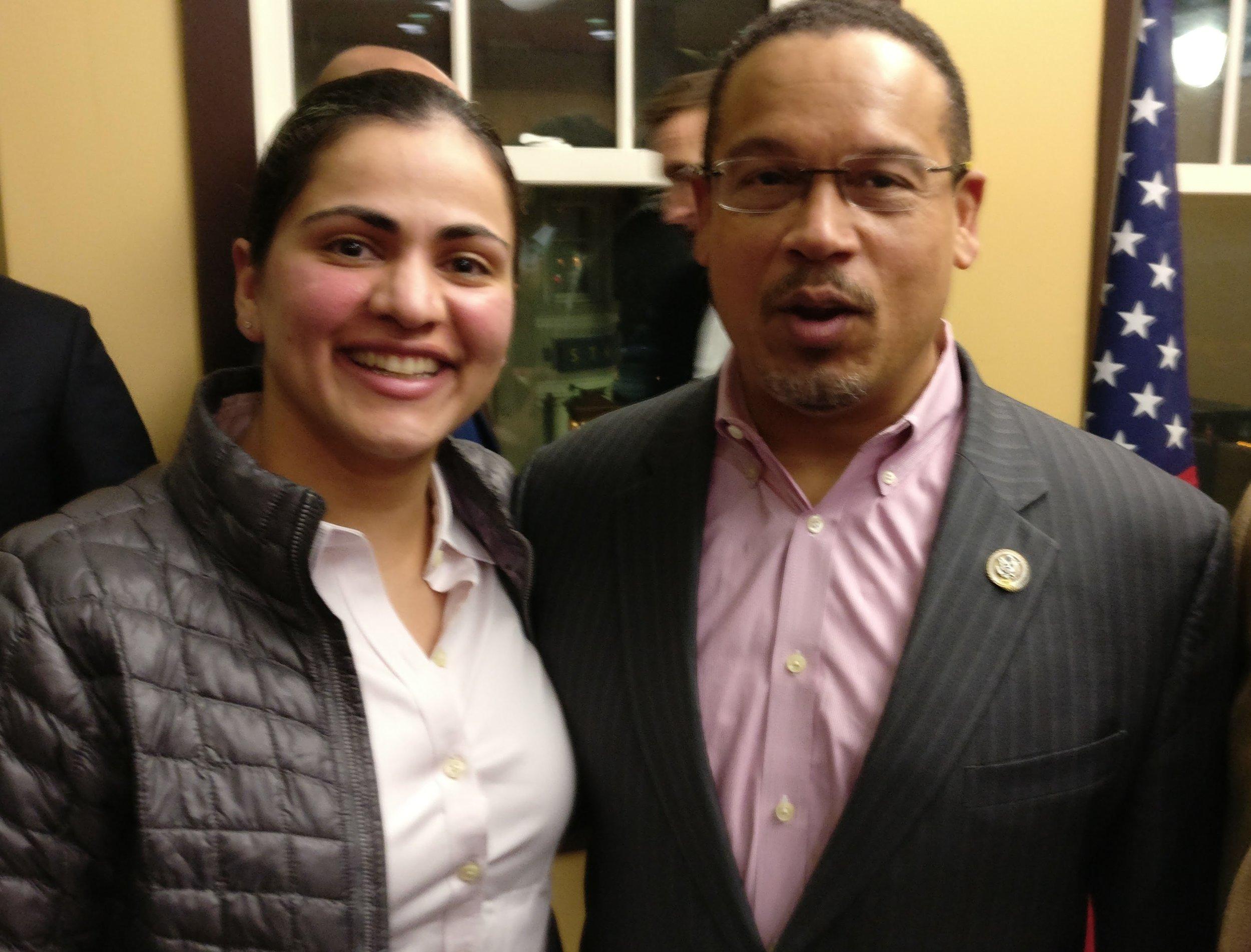 Congressman & DNC Deputy Chair Keith Ellison