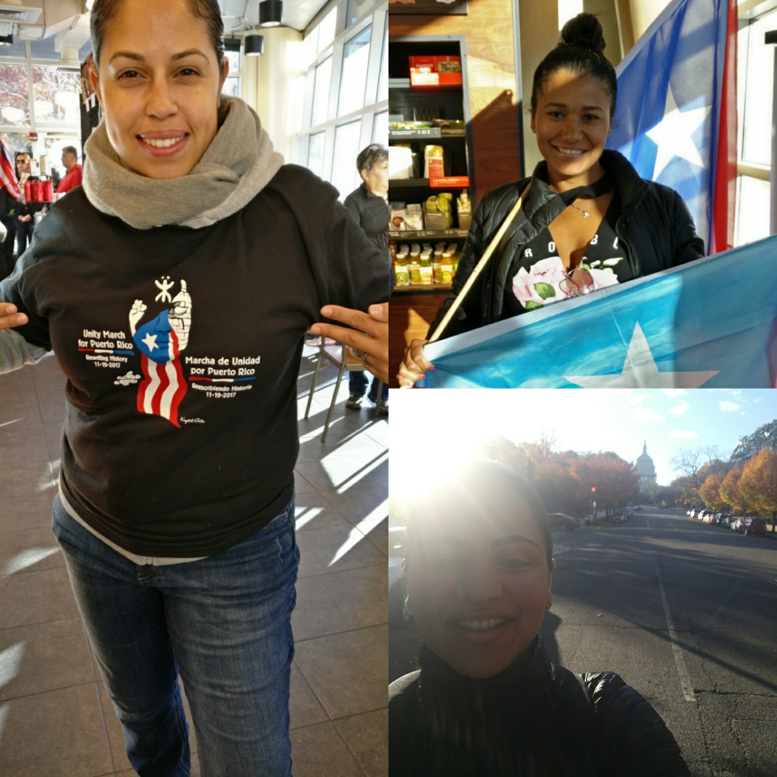 March In Support of Puerto Rico Aid