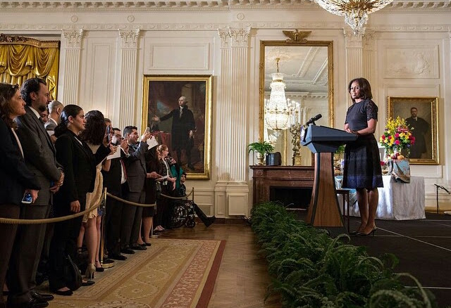 Michelle Obama at the White House