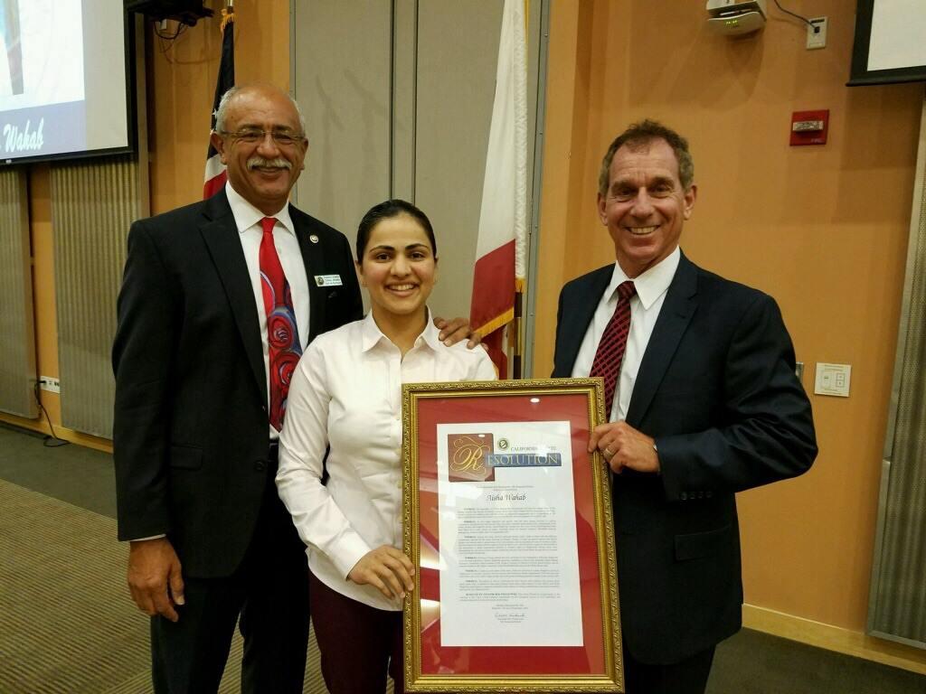 Unity Award from Senator Bob Wieckowski