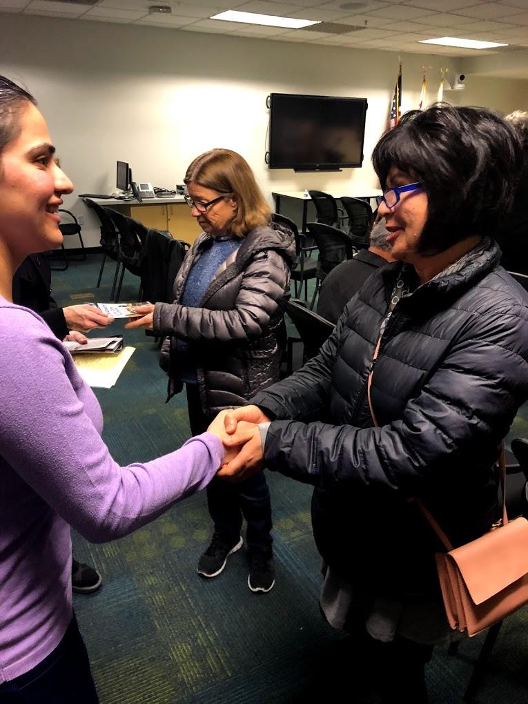 Meeting Voters