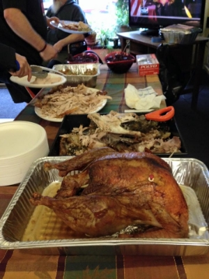 TGT brings Thanksgiving to our residents every year.