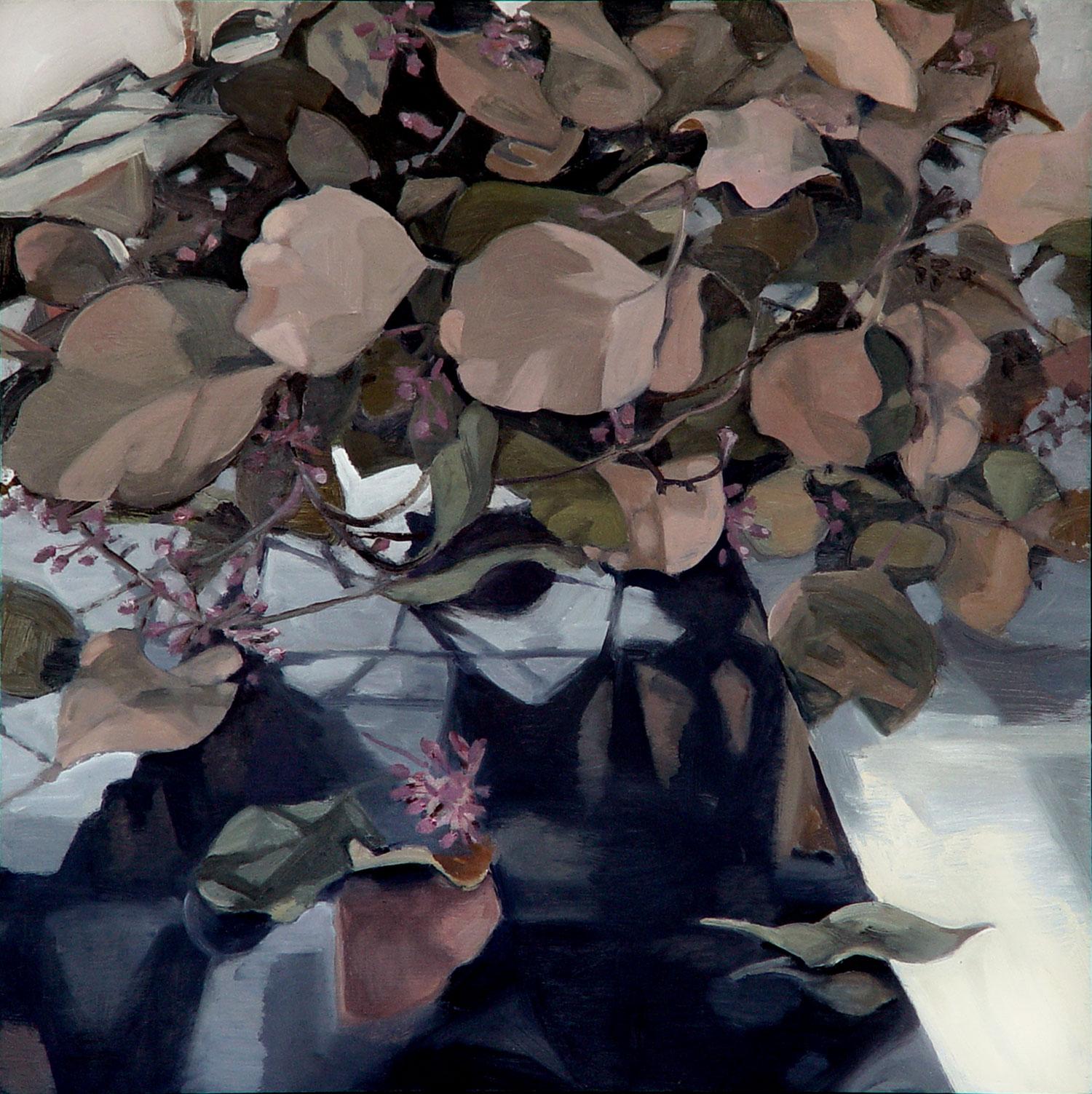"""MORNING LIGHT  oil on panel  20 x 20""""  2005"""