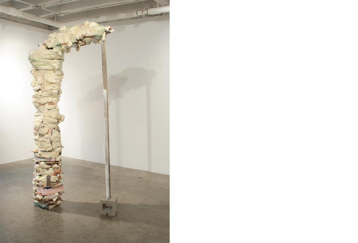THRESHOLD    mixed media, 98 x 50 x 18 inches, 2012