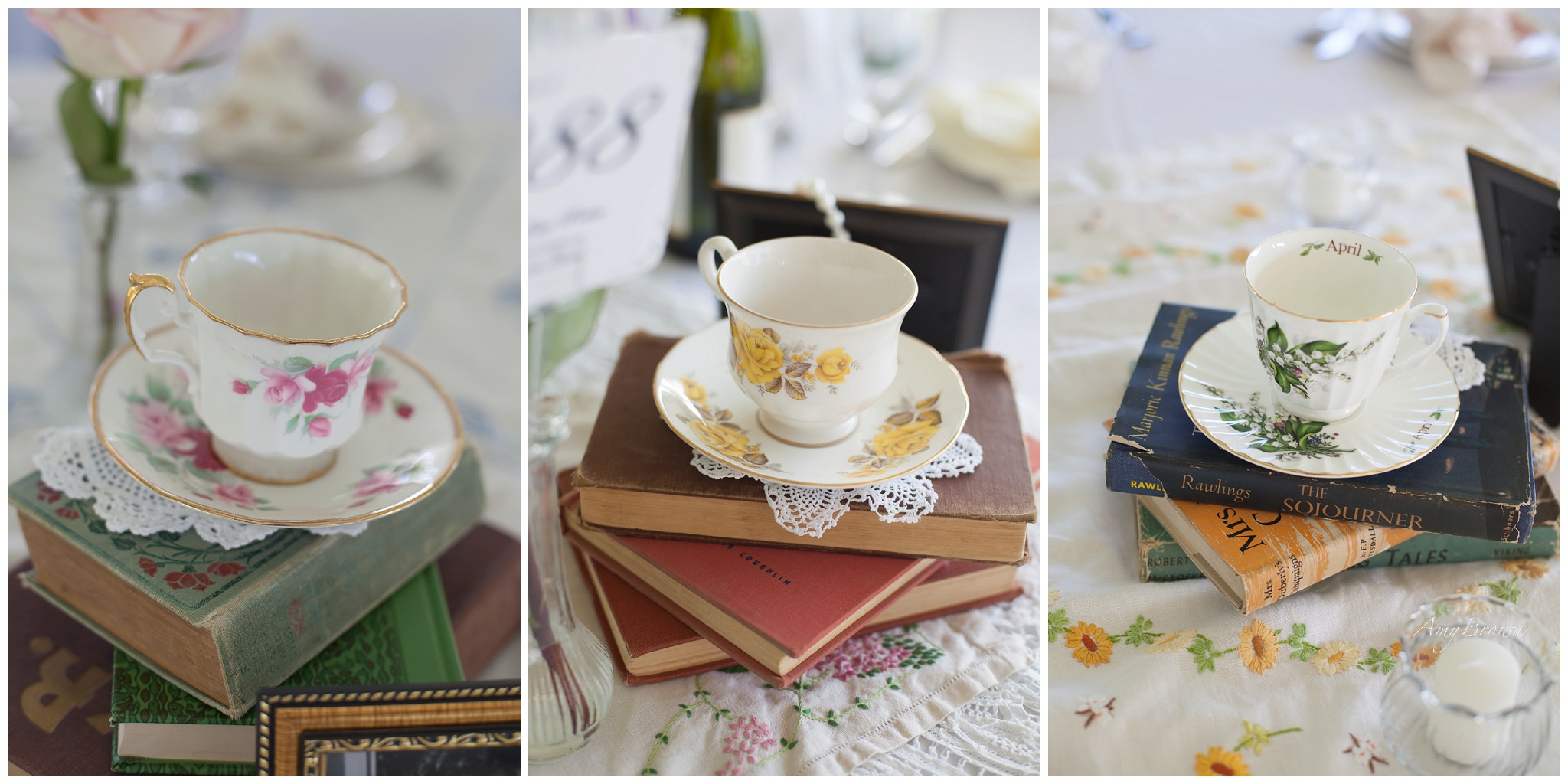 NH Wedding Photographer | DIY victorian wedding decor| Amy Brown Photography