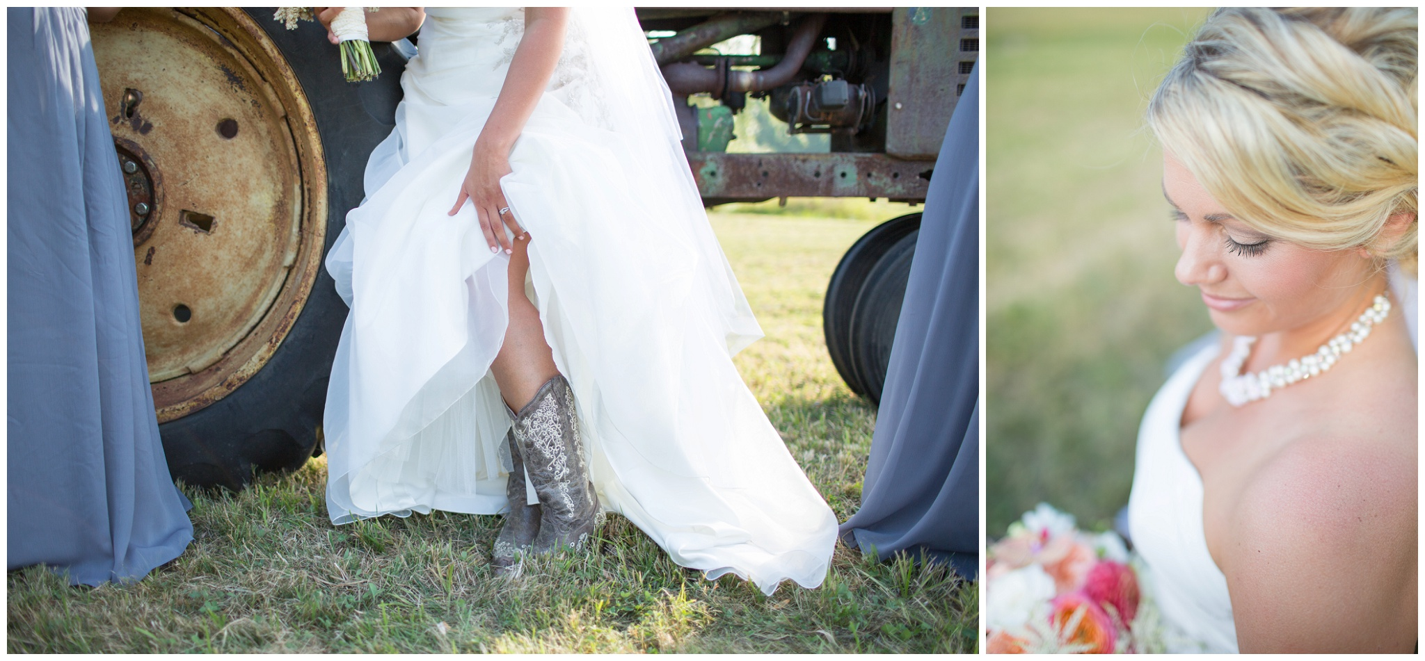 Seacoast NH Wedding Photographer |  NH cowboy boots in wedding | Farm Details | Amy Brown Photography