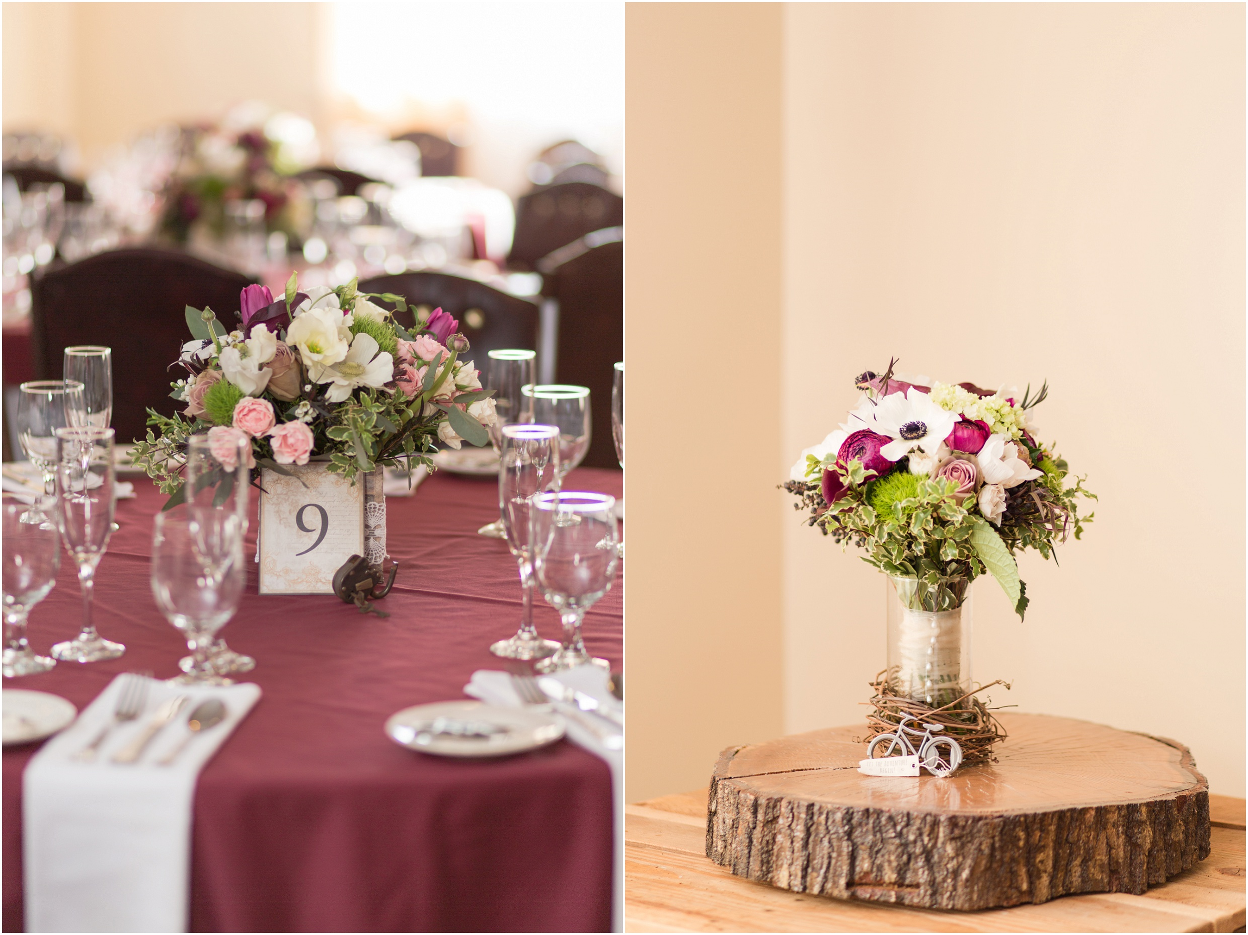 New Hampshire wedding photographer | Merlot and Sage Wedding Colors - Flag Hill Winery -New Hampshire |