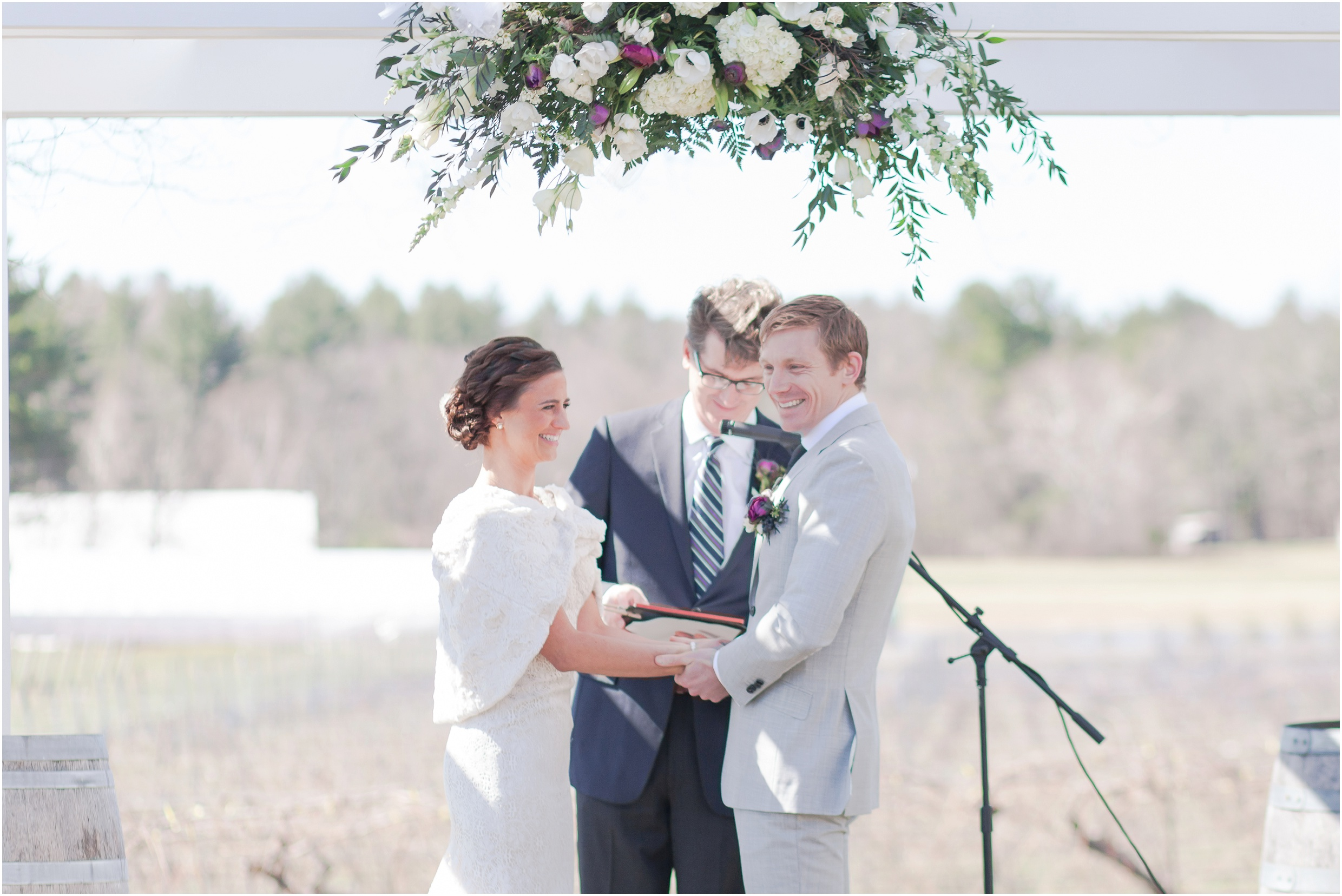 Southern New Hampshire Wedding Photographer  | New Hampshire Vineyard Wedding Flag Hill  Winery | Amy Brown Photography