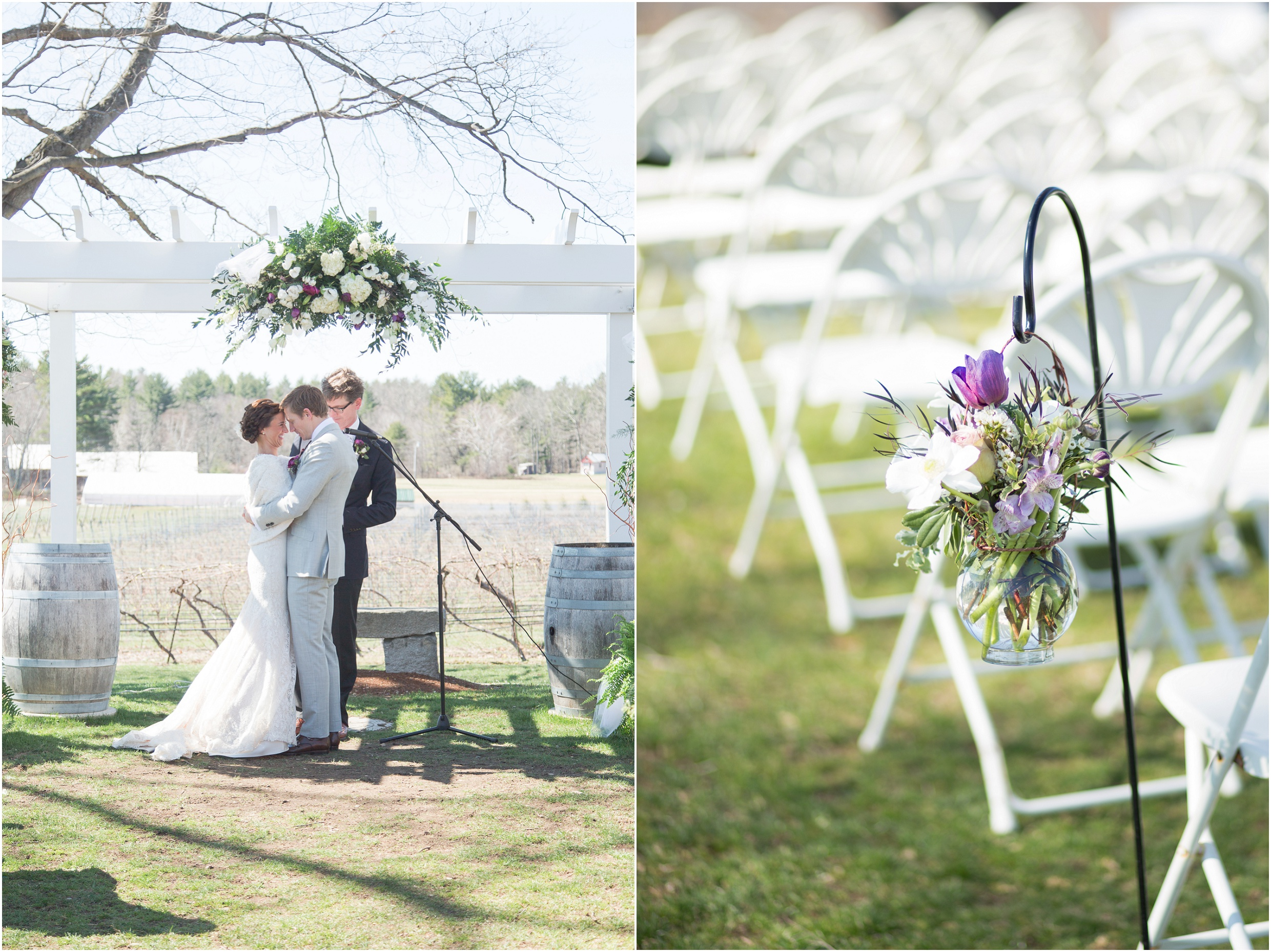 Southern New Hampshire Wedding Photographer  | Flag Hill Distillery Wedding Lee New Hampshire | Amy Brown Photography