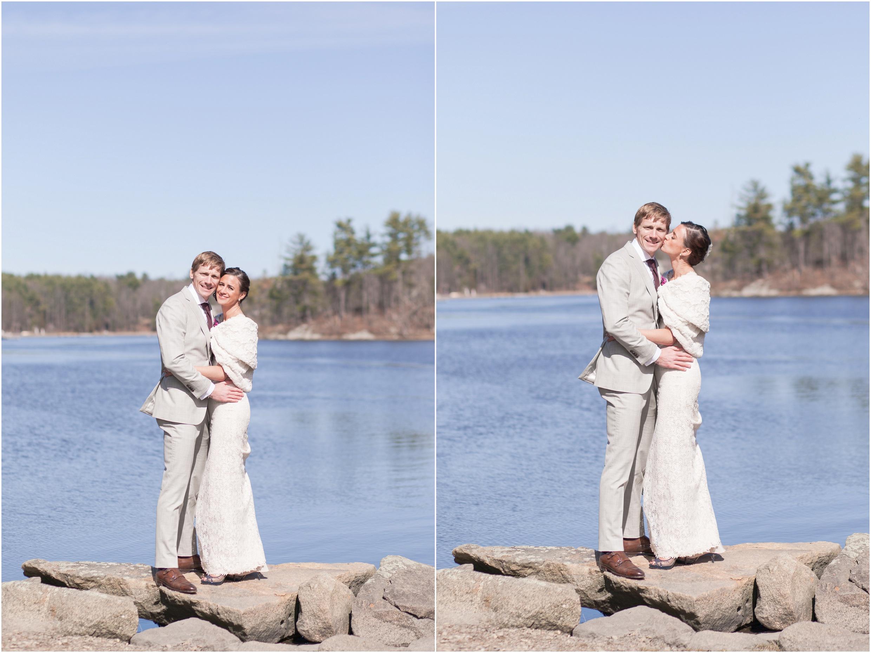 Southern New Hampshire Wedding Photographer  | New hampshire Rocky Coast Great Bay Three Chimneys Inn NH  | Amy Brown Photography