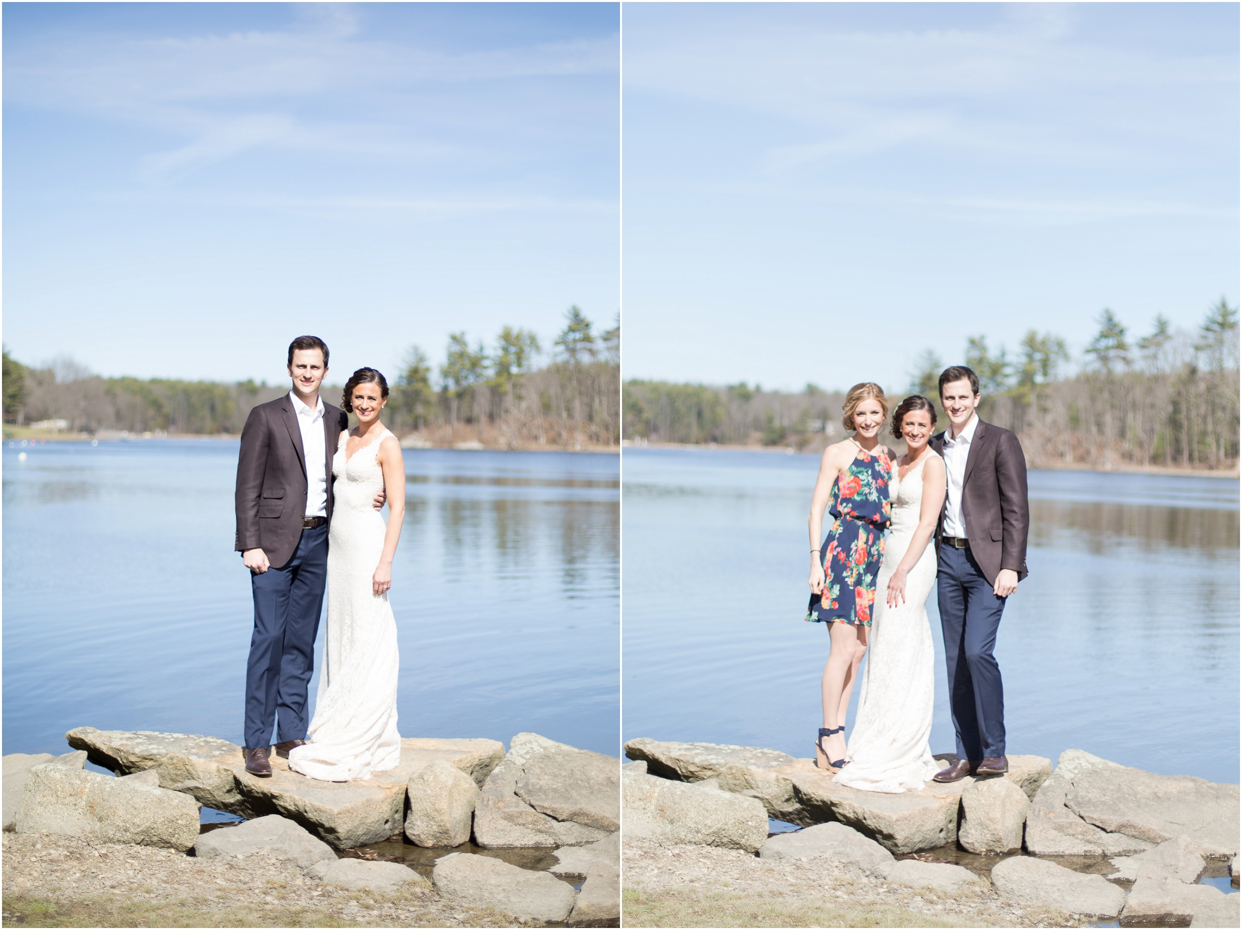 Southern New Hampshire Wedding Photographer | Brother and Sister In Law Portraits NH | Amy Brown Photography