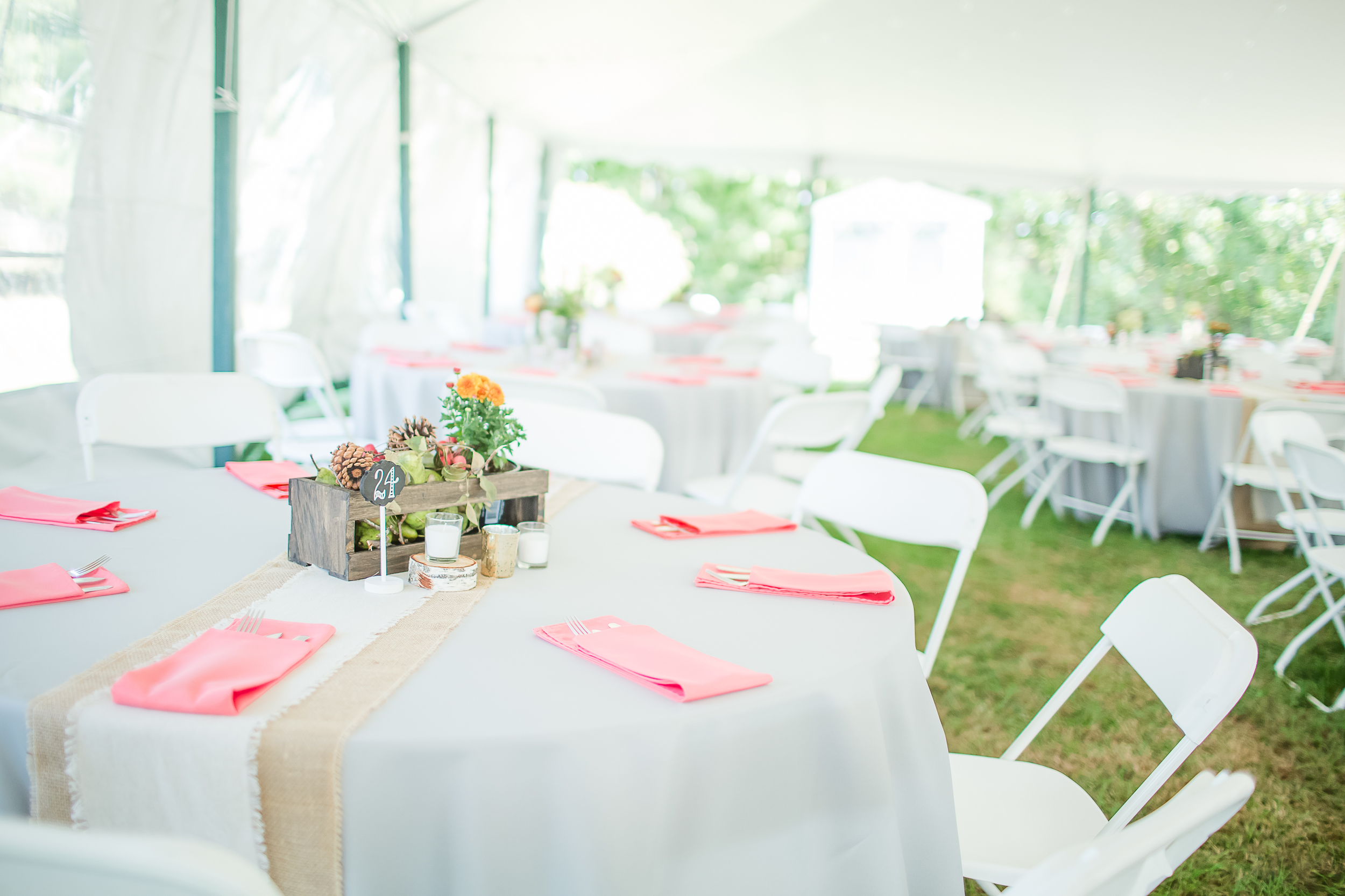 NH Sailcloth Tent Wedding | New Hampshire Farm Wedding | Outdoor Reception | Amy Brown Photography