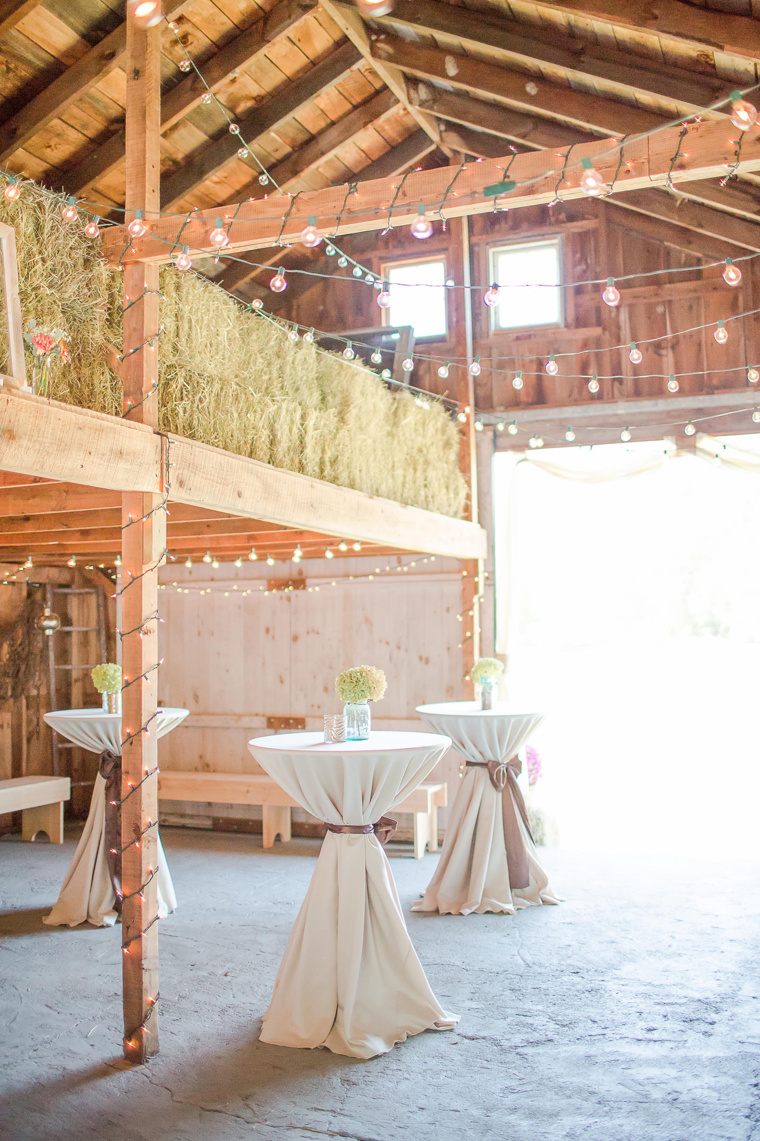 New Hampshire Wedding Photography | Farm Wedding | Barn Cocktail Hour | Amy Brown Photography