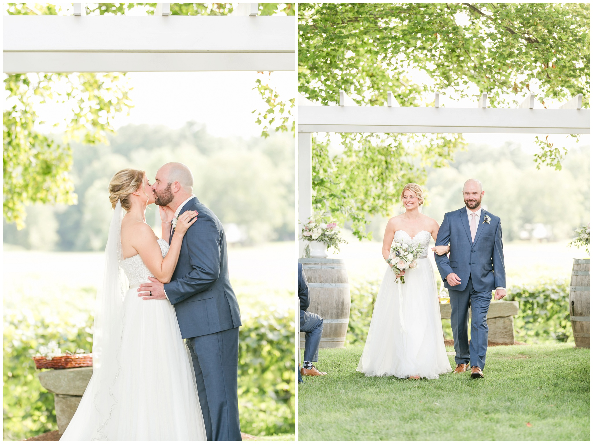 New Hampshire Wedding Photographer | Amy Brown Photography | Flag Hill Winery Outdoor NH Wedding