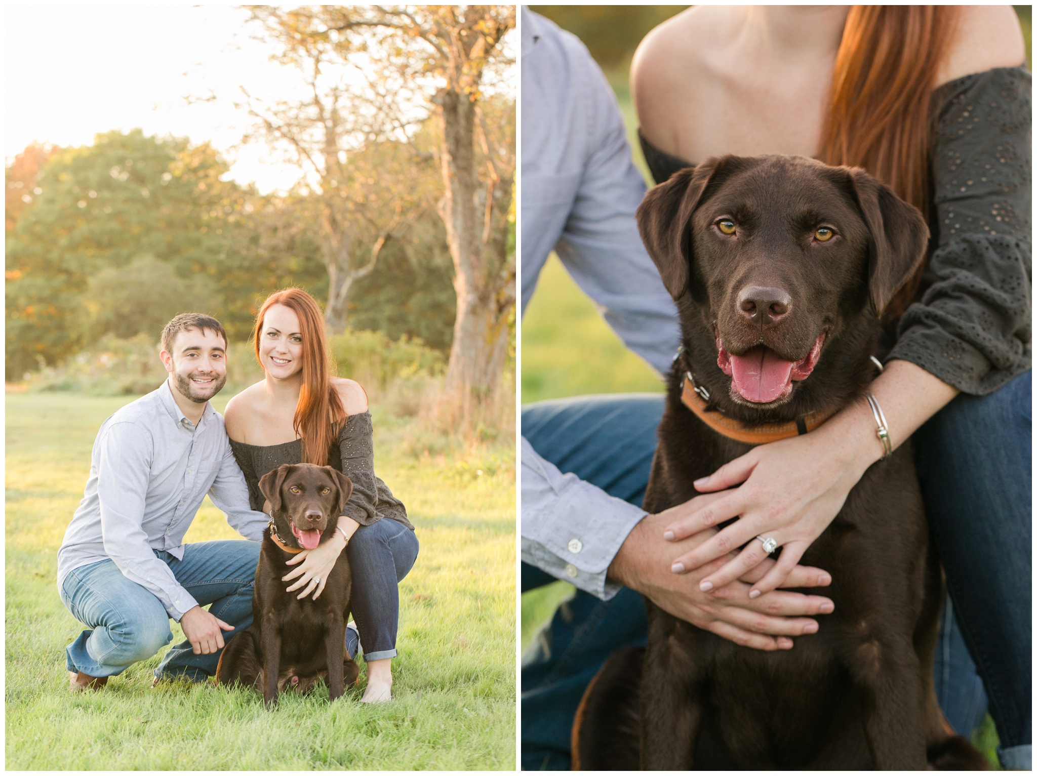 New Hampshire Wedding Photographer | Engagement Session | Wagon Hill Durham, NH