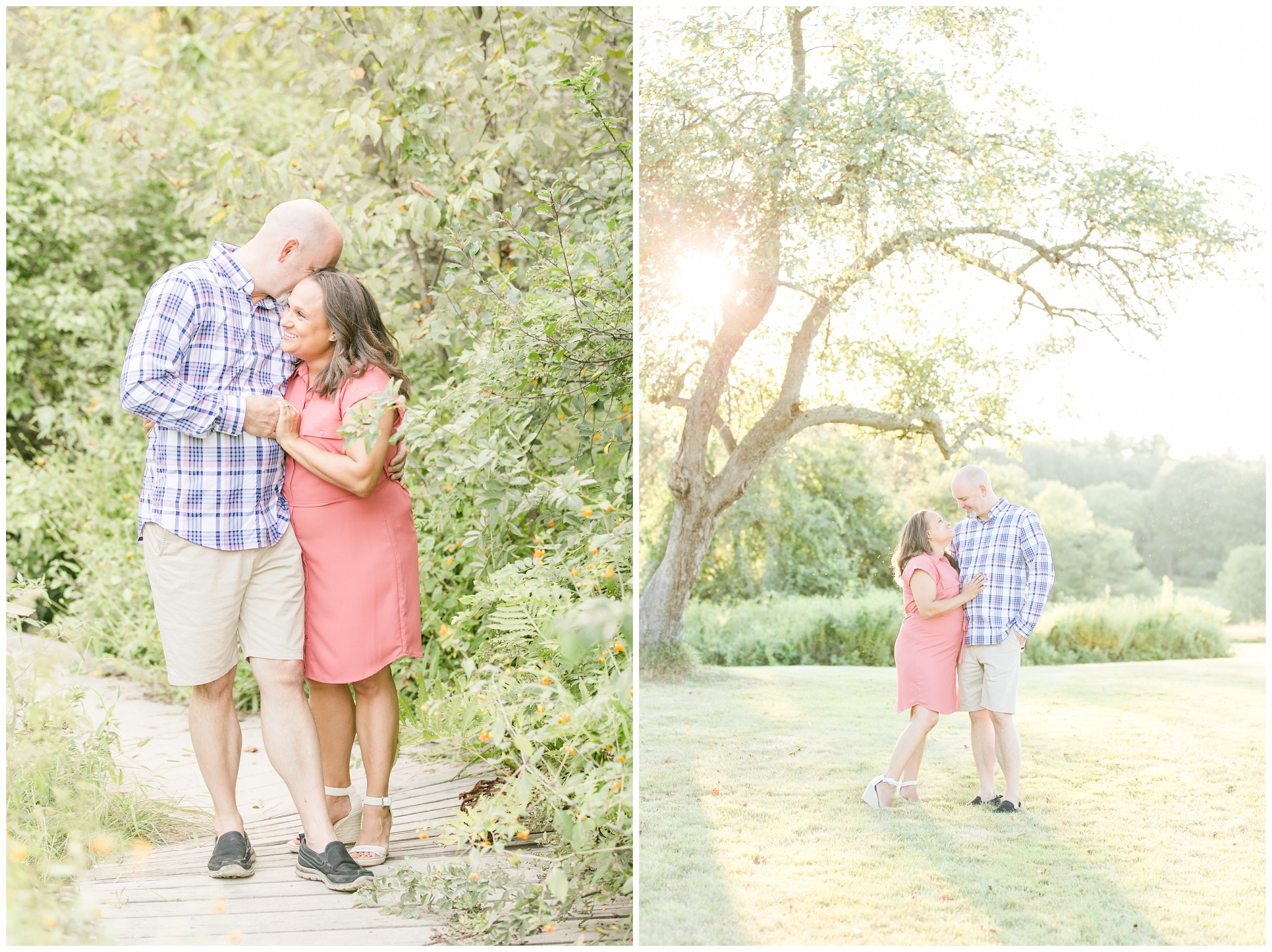 Seacoast New Hampshire Wedding Photographer | Wagon Hill Engagement Session | Flag Hill Distillery Vineyard Wedding