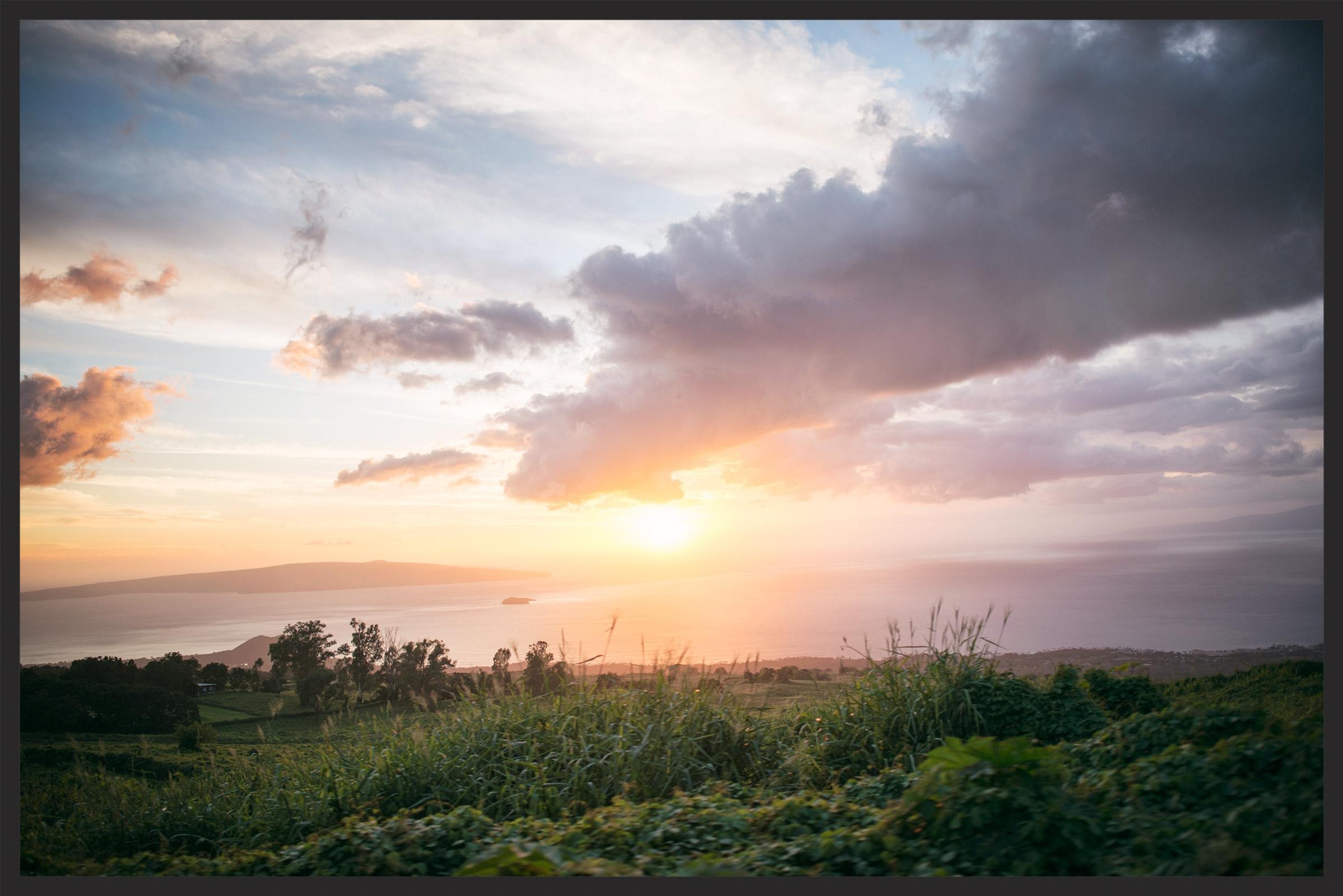 Sunset on Maui -by  Sharonlea Photography