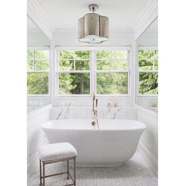 Our cure for a case of the Mondays... . . . #jodiflemingdesign #masterbathroom #bathroomdesign #bathroomdecor #interiordesign #homedecor #customhome #bathtub #houzz #architecture #luxury #instagood #homeinspo #design #designbuild