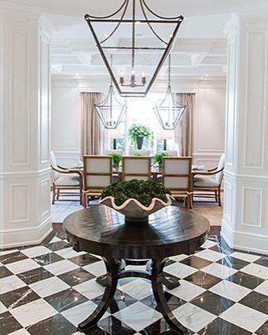 A favorite foyer... . . . #jodiflemingdesign #customhome #designbuild #foyer #entryway #diningroom #homedecor #homedesign #interiordesign #interior #design #luxury #architecture #houzz #entrywaydecor