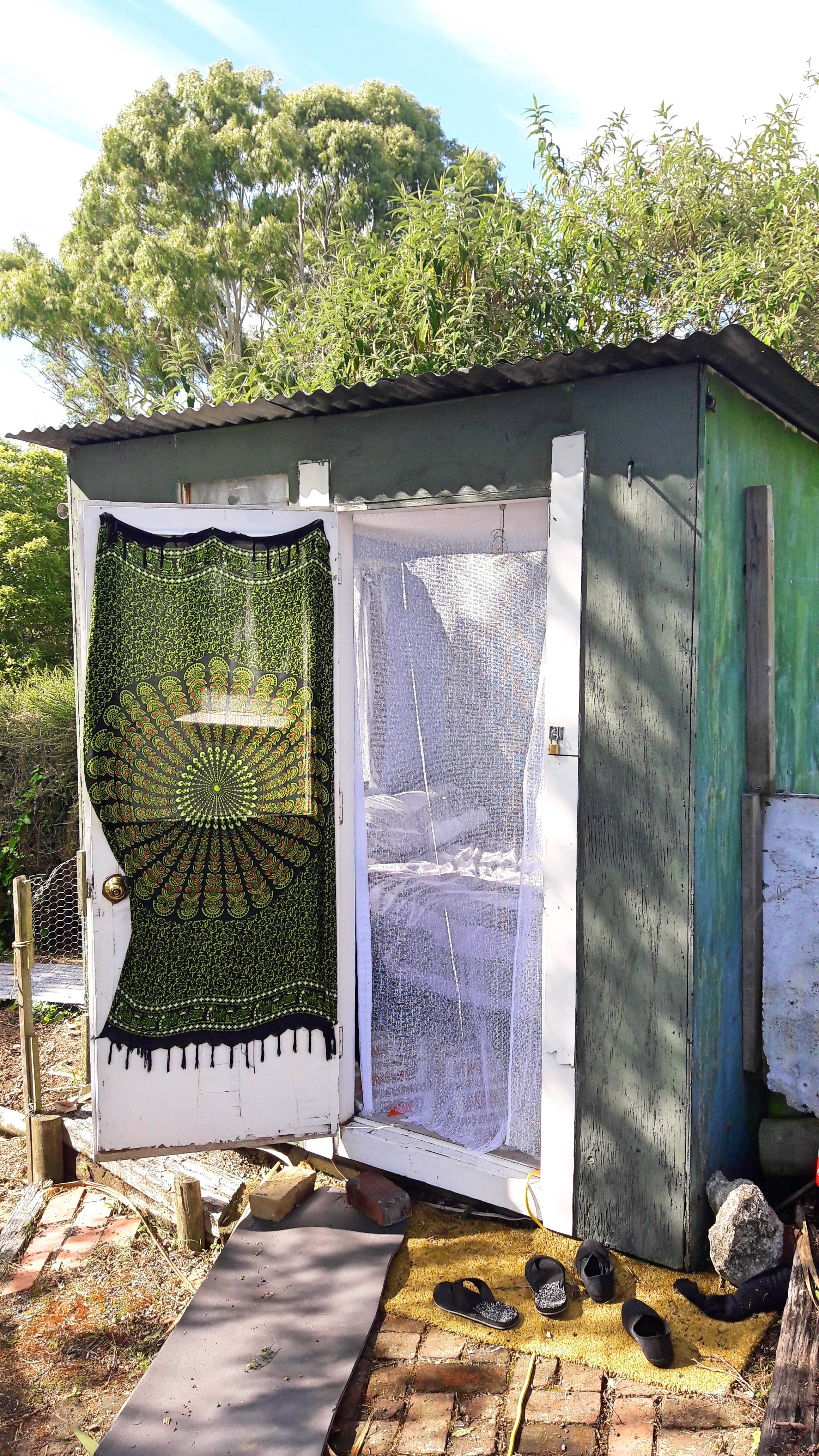 The 8ft X 8ft Converted Shed We lived in for $60NZD/ week