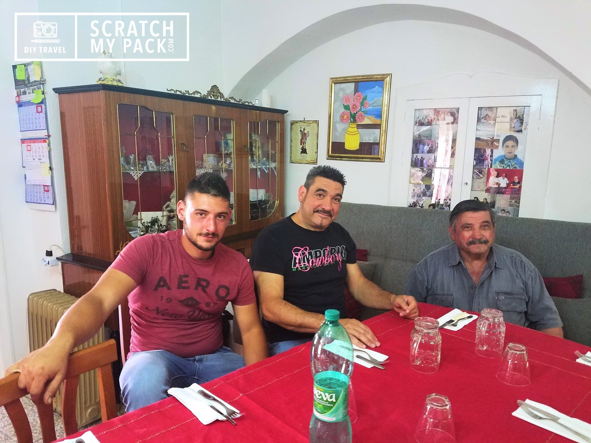(Left to Right) Giovanni, Vincenzo, & Giuseppe